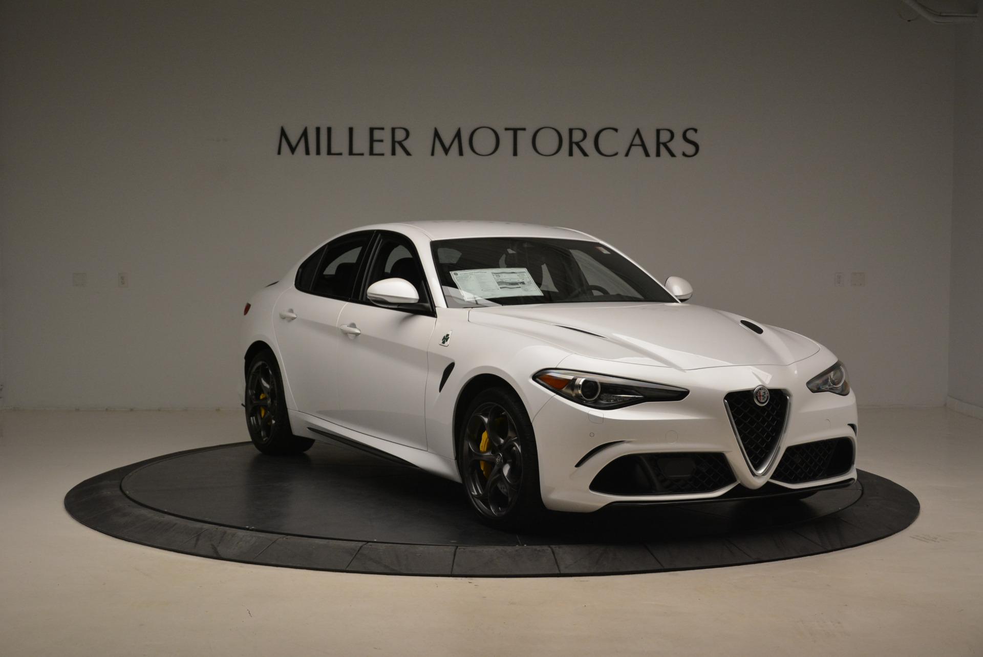 New 2018 Alfa Romeo Giulia Quadrifoglio For Sale In Greenwich, CT. Alfa Romeo of Greenwich, LW121 2031_p11