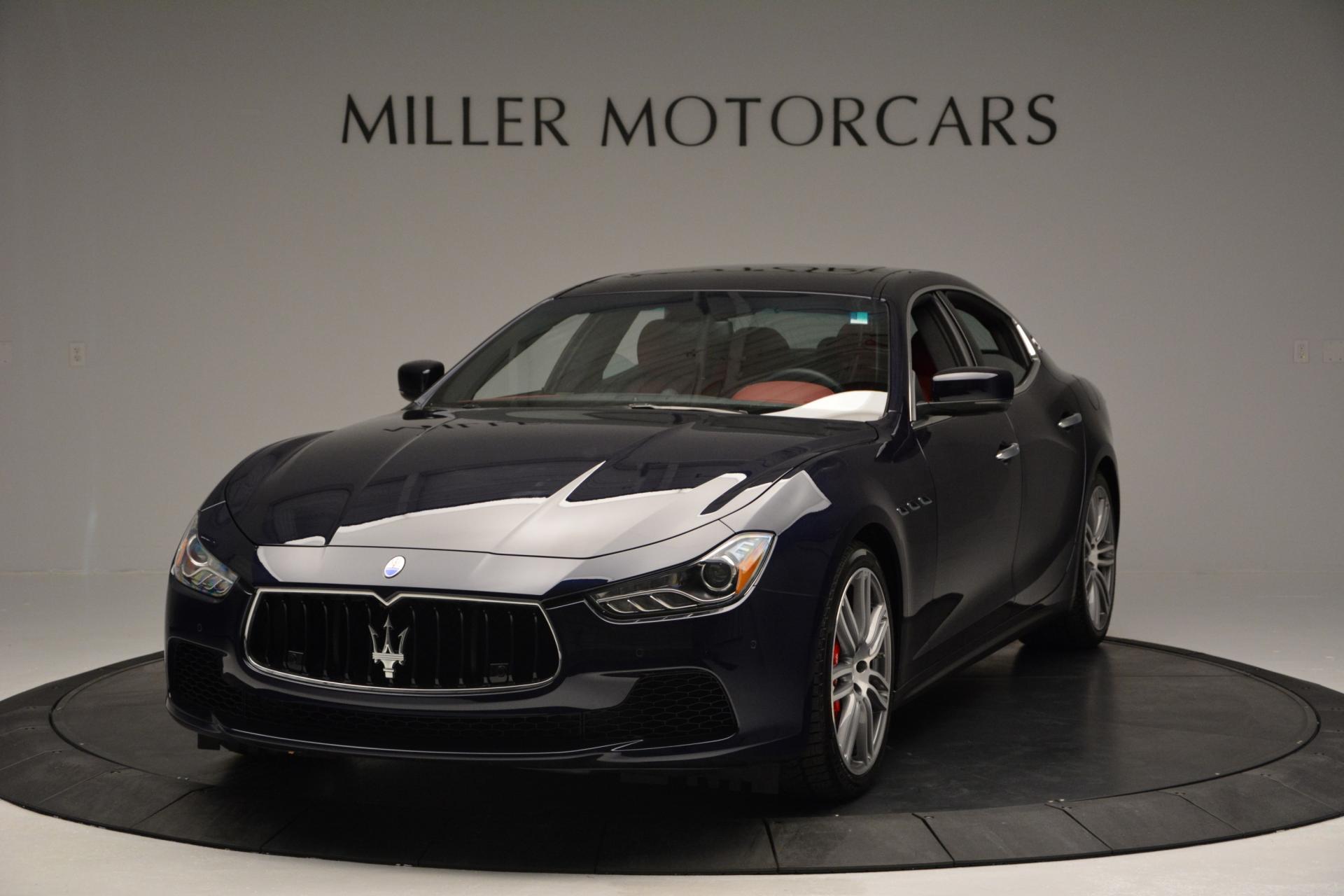 New 2016 Maserati Ghibli S Q4 For Sale In Greenwich, CT. Alfa Romeo of Greenwich, M1563 204_main