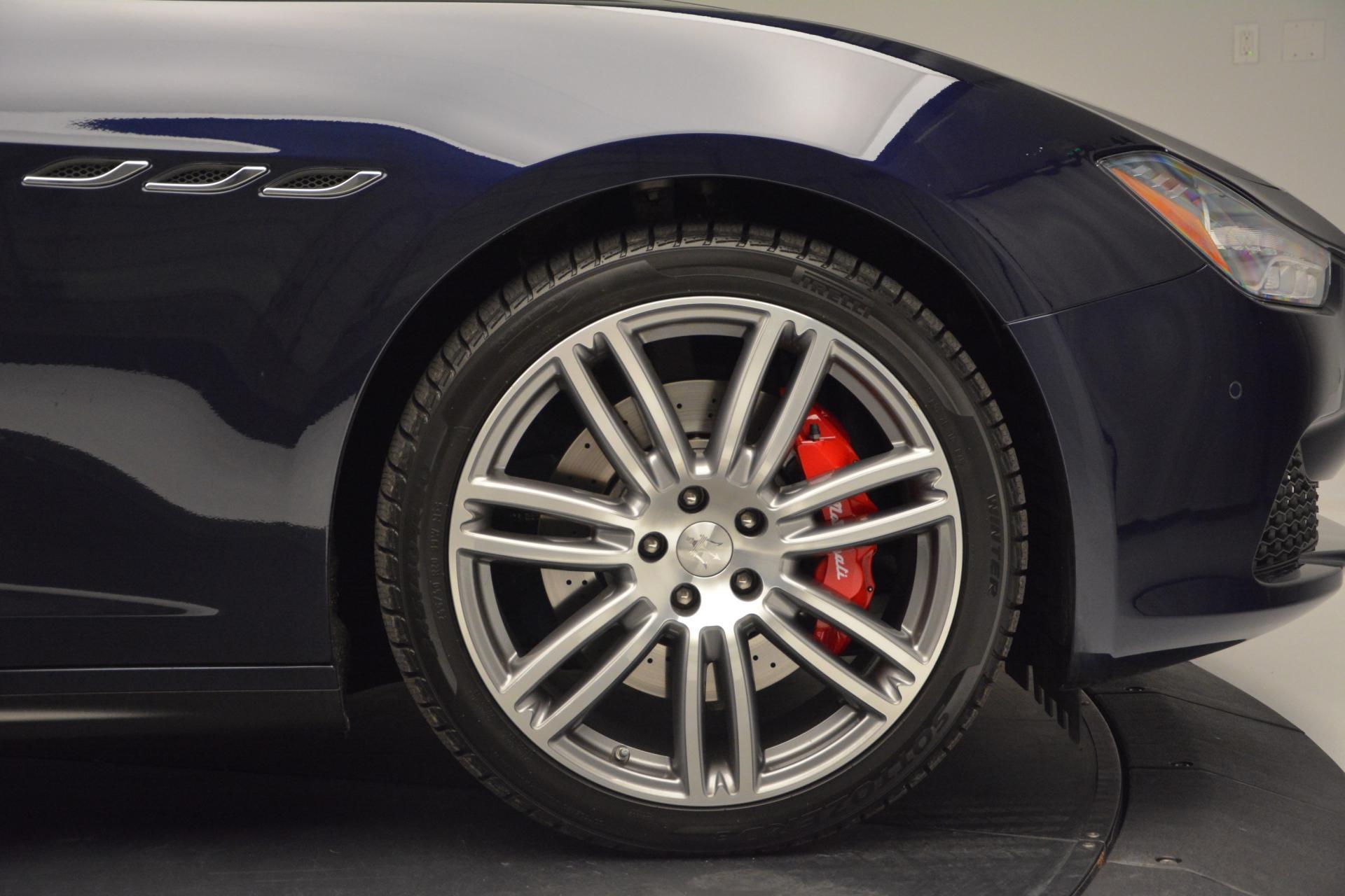 New 2016 Maserati Ghibli S Q4 For Sale In Greenwich, CT. Alfa Romeo of Greenwich, M1563 204_p25