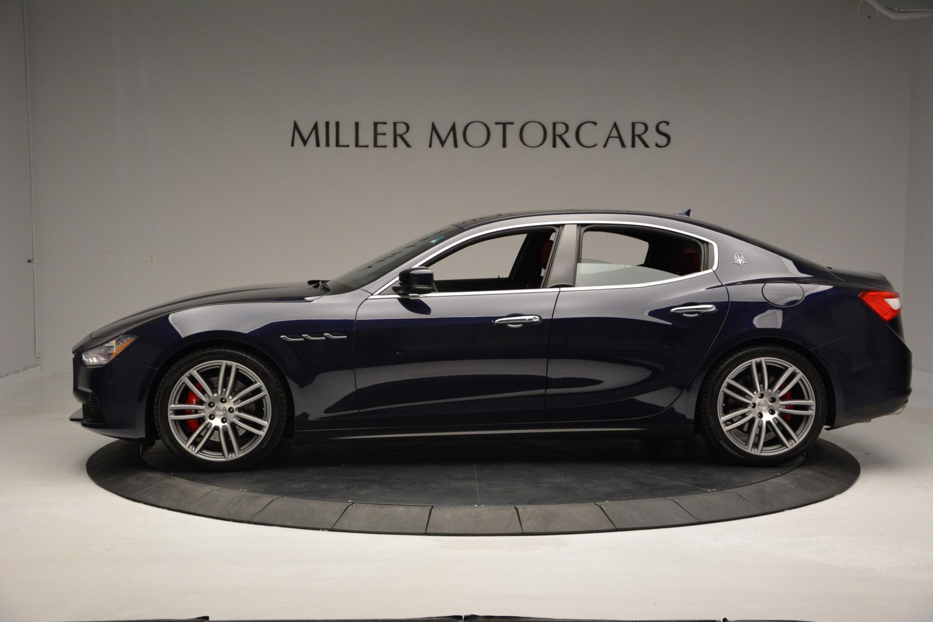 New 2016 Maserati Ghibli S Q4 For Sale In Greenwich, CT. Alfa Romeo of Greenwich, M1563 204_p3