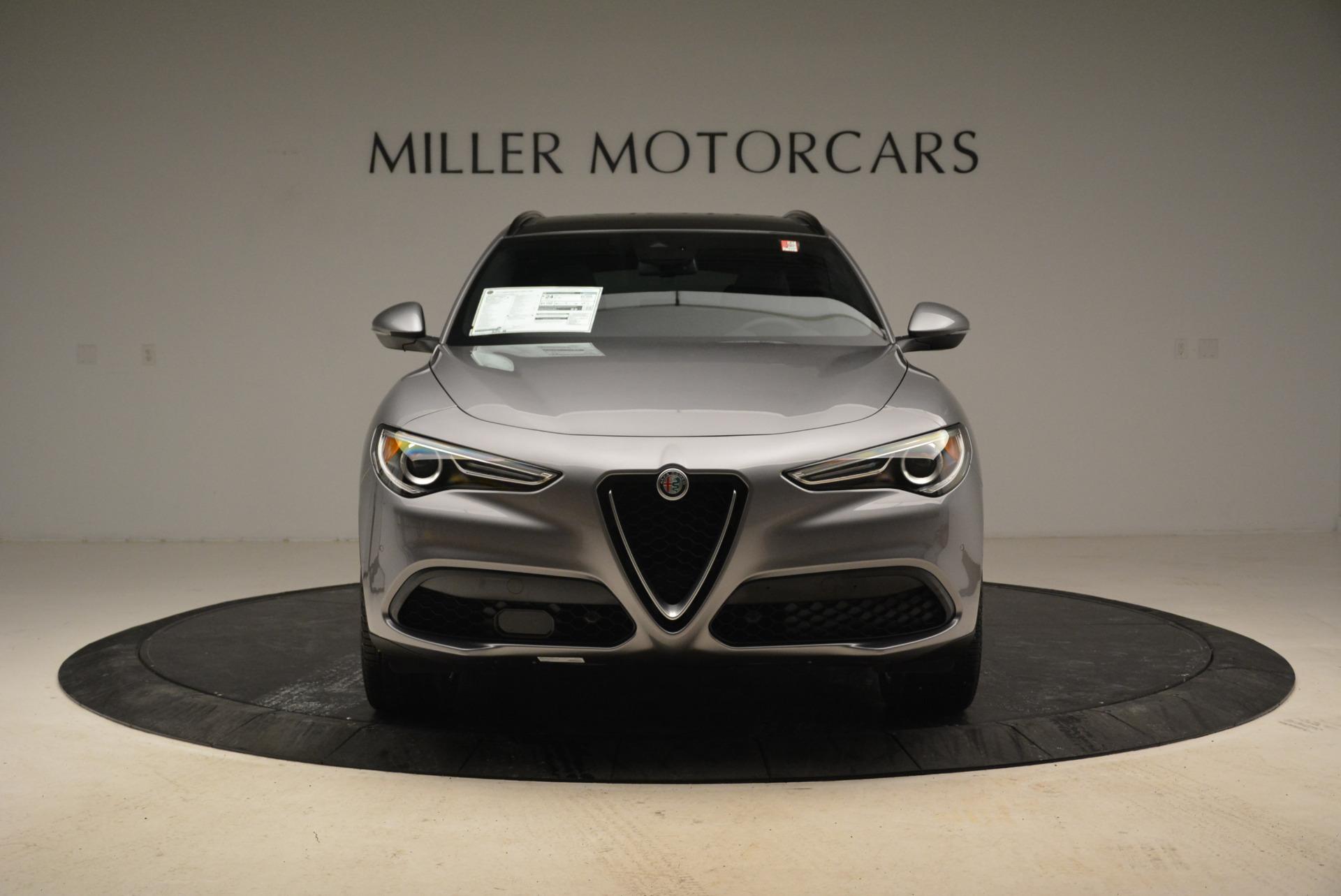 New 2018 Alfa Romeo Stelvio Ti Sport Q4 For Sale In Greenwich, CT. Alfa Romeo of Greenwich, L356 2040_p12