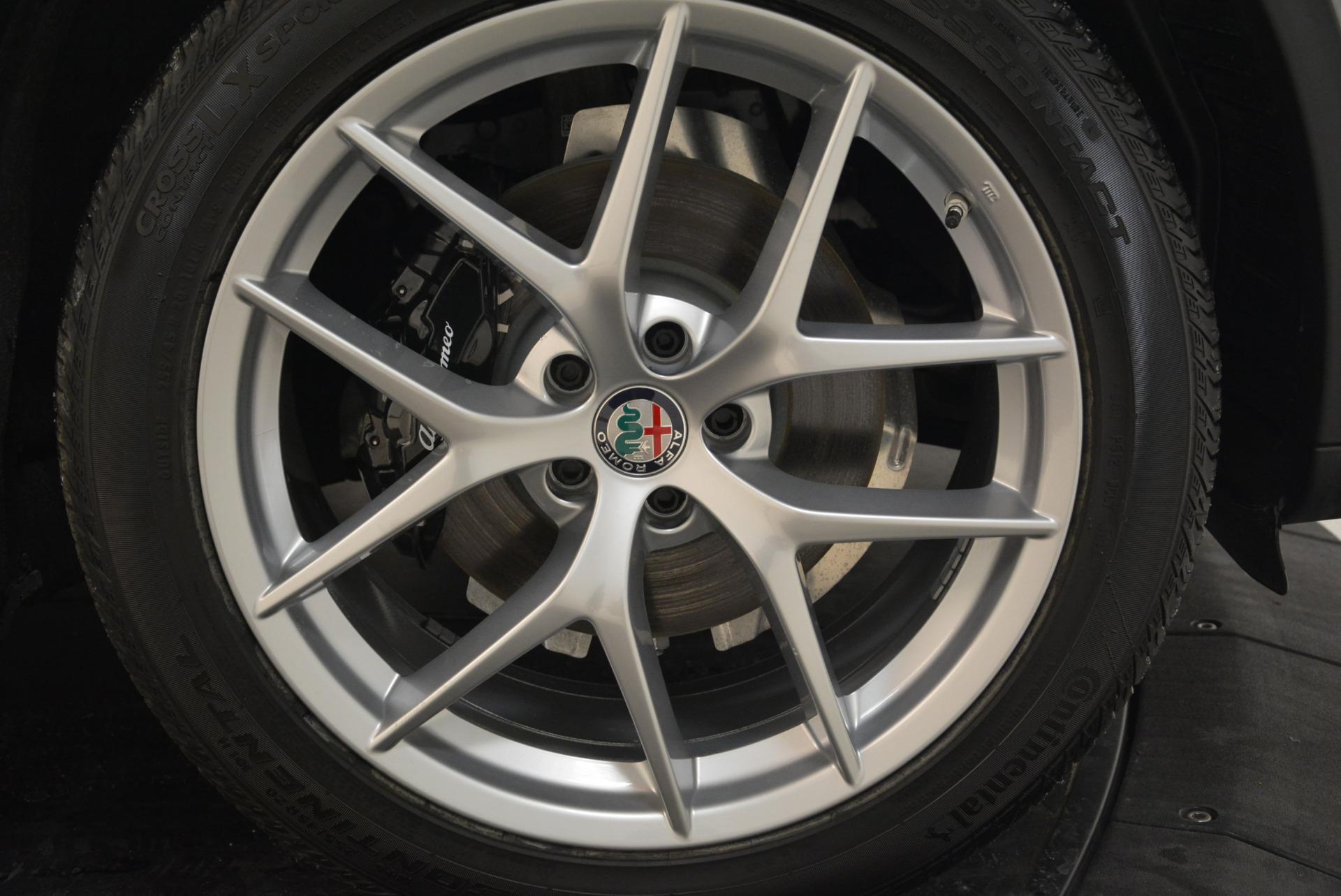 New 2018 Alfa Romeo Stelvio Ti Sport Q4 For Sale In Greenwich, CT. Alfa Romeo of Greenwich, L356 2040_p25