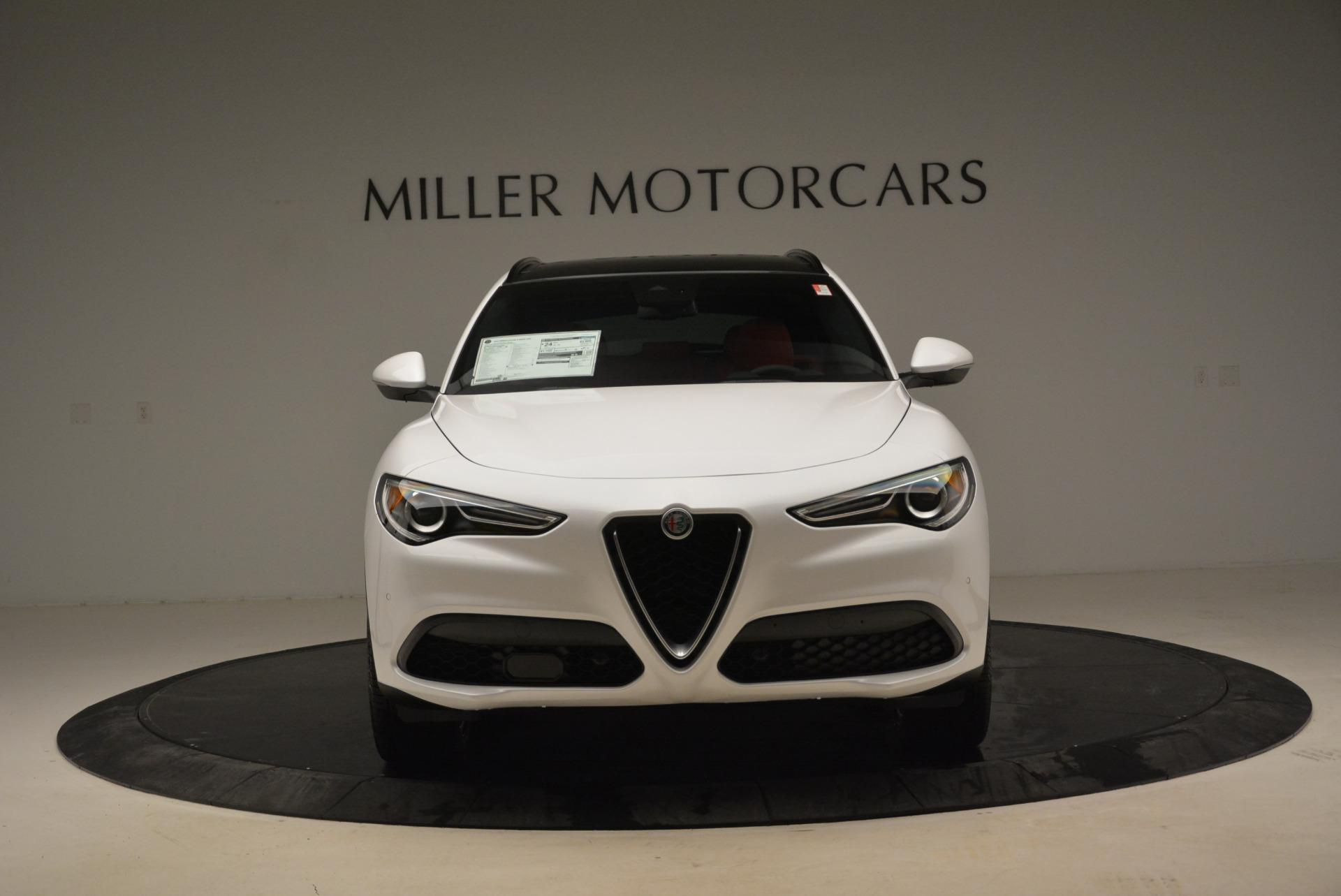New 2018 Alfa Romeo Stelvio Ti Sport Q4 For Sale In Greenwich, CT. Alfa Romeo of Greenwich, L357 2041_p12