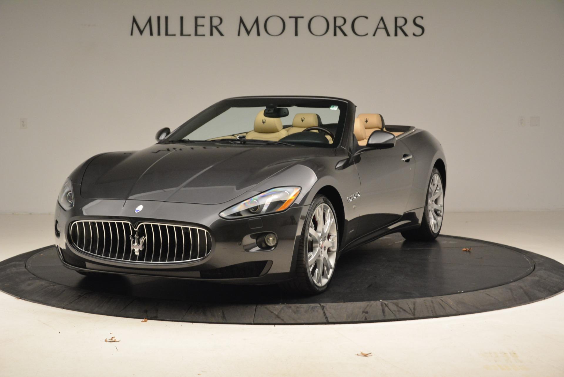 Used 2013 Maserati GranTurismo Convertible  For Sale In Greenwich, CT. Alfa Romeo of Greenwich, W566A 2050_main