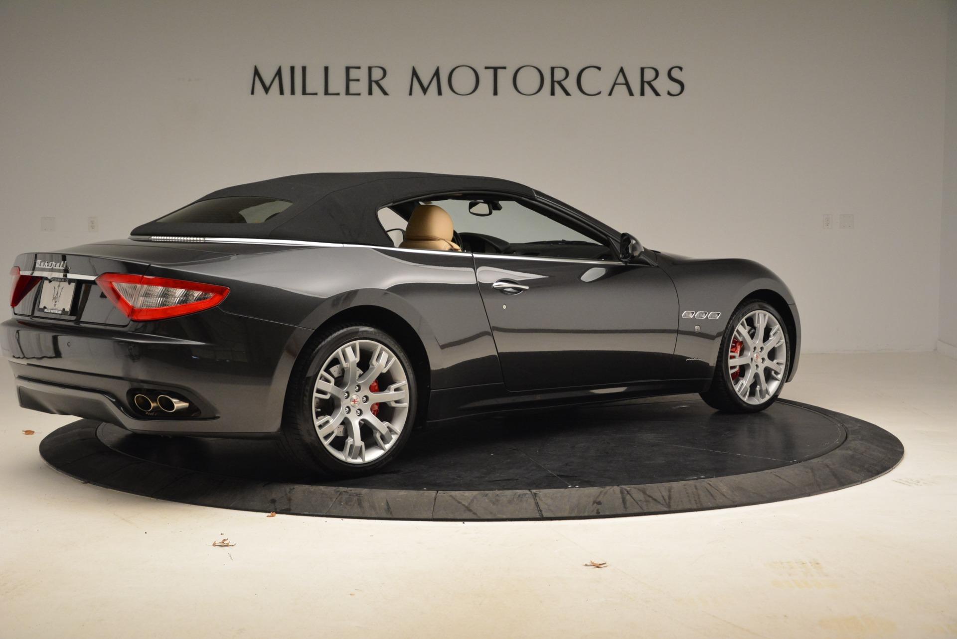 Used 2013 Maserati GranTurismo Convertible  For Sale In Greenwich, CT. Alfa Romeo of Greenwich, W566A 2050_p20