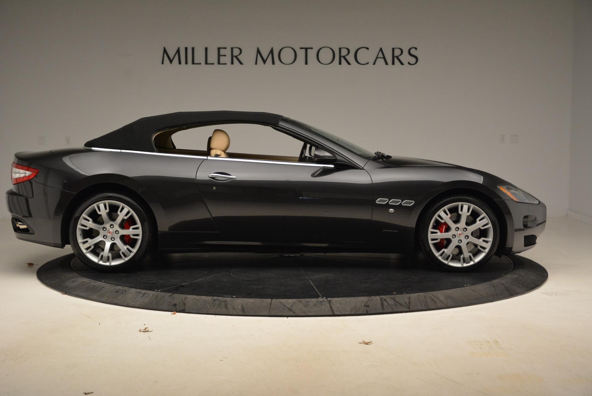 Used 2013 Maserati GranTurismo Convertible  For Sale In Greenwich, CT. Alfa Romeo of Greenwich, W566A 2050_p21
