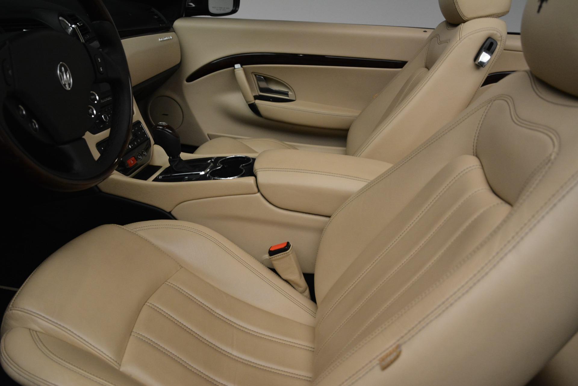 Used 2013 Maserati GranTurismo Convertible  For Sale In Greenwich, CT. Alfa Romeo of Greenwich, W566A 2050_p26