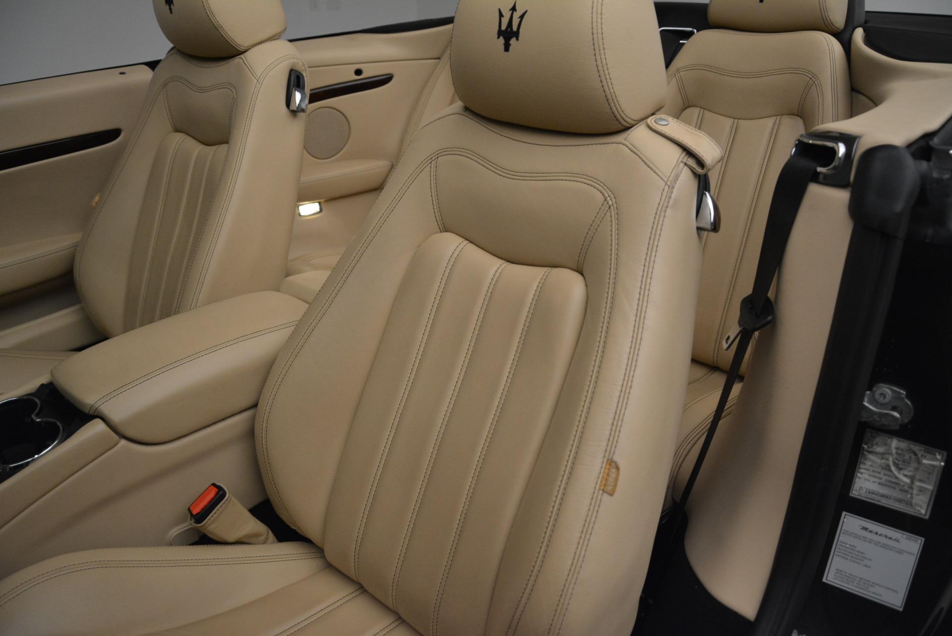 Used 2013 Maserati GranTurismo Convertible  For Sale In Greenwich, CT. Alfa Romeo of Greenwich, W566A 2050_p27