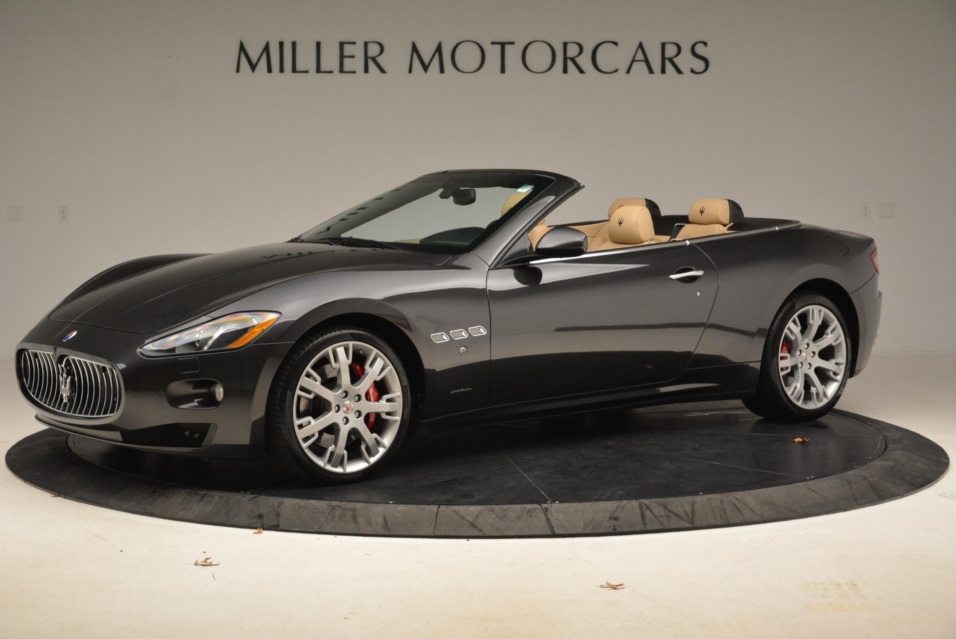 Used 2013 Maserati GranTurismo Convertible  For Sale In Greenwich, CT. Alfa Romeo of Greenwich, W566A 2050_p2