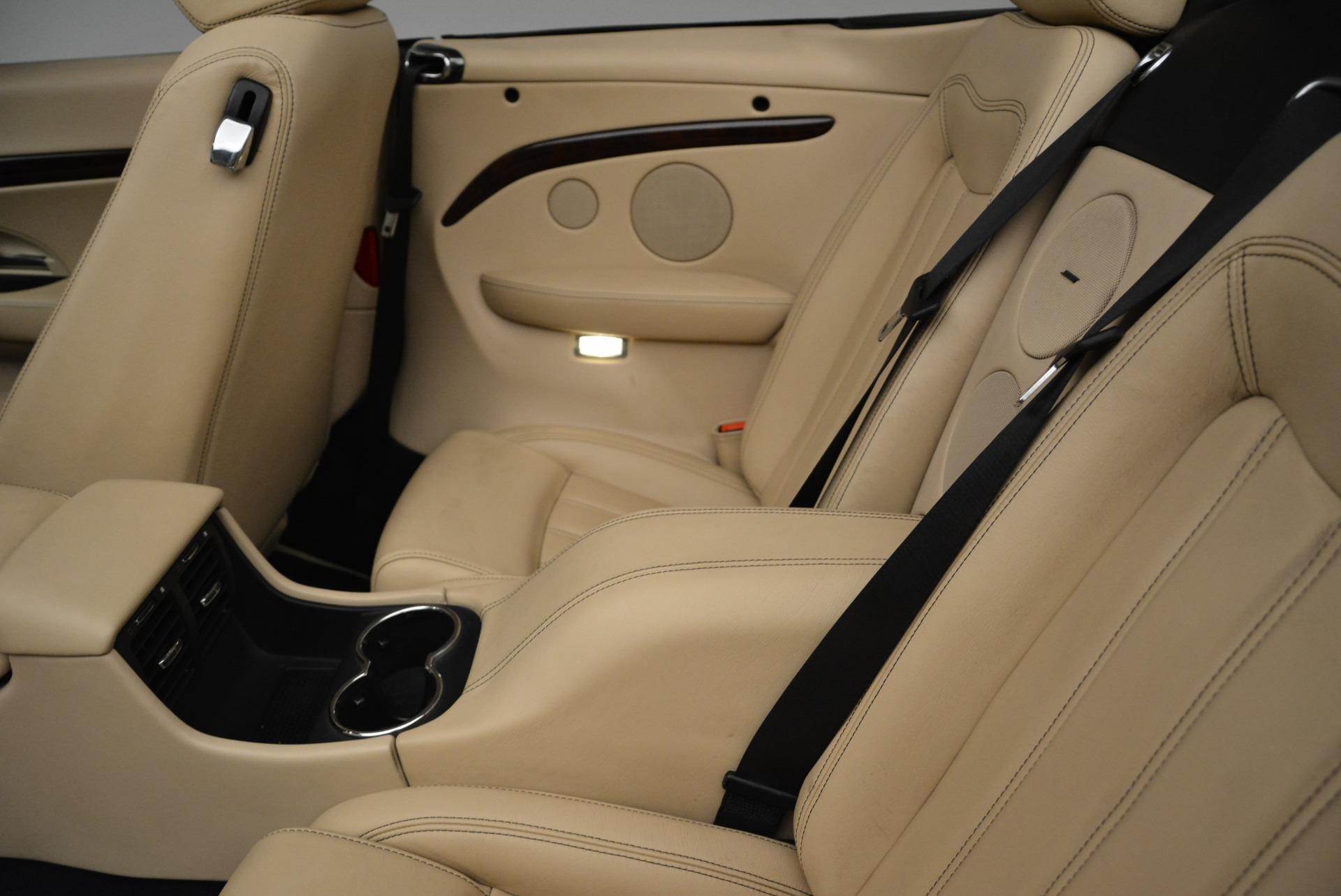 Used 2013 Maserati GranTurismo Convertible  For Sale In Greenwich, CT. Alfa Romeo of Greenwich, W566A 2050_p30