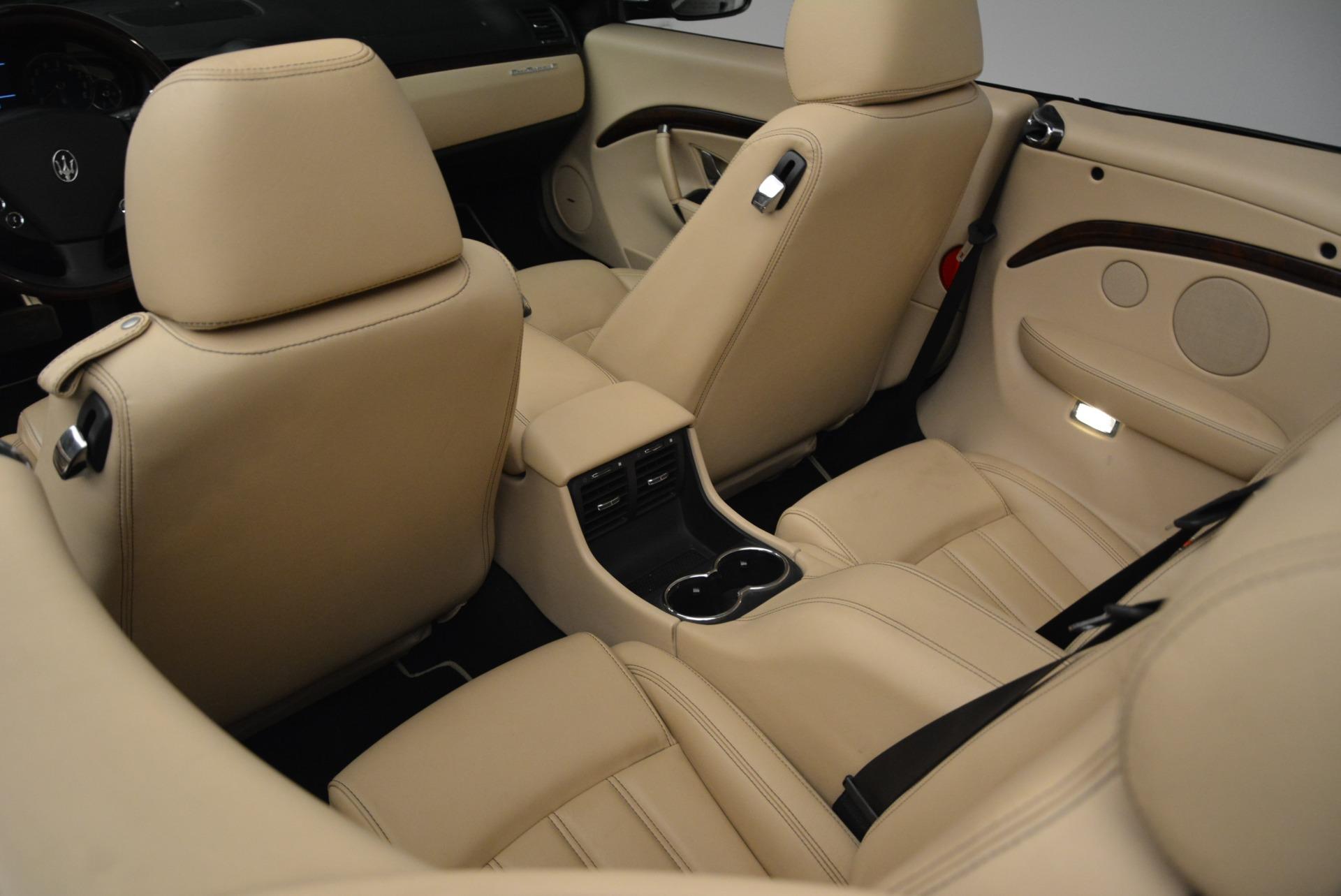 Used 2013 Maserati GranTurismo Convertible  For Sale In Greenwich, CT. Alfa Romeo of Greenwich, W566A 2050_p31