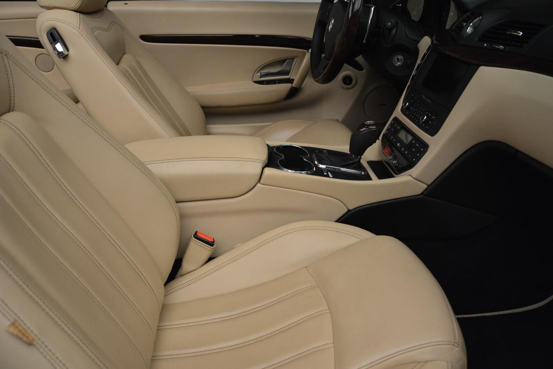 Used 2013 Maserati GranTurismo Convertible  For Sale In Greenwich, CT. Alfa Romeo of Greenwich, W566A 2050_p33