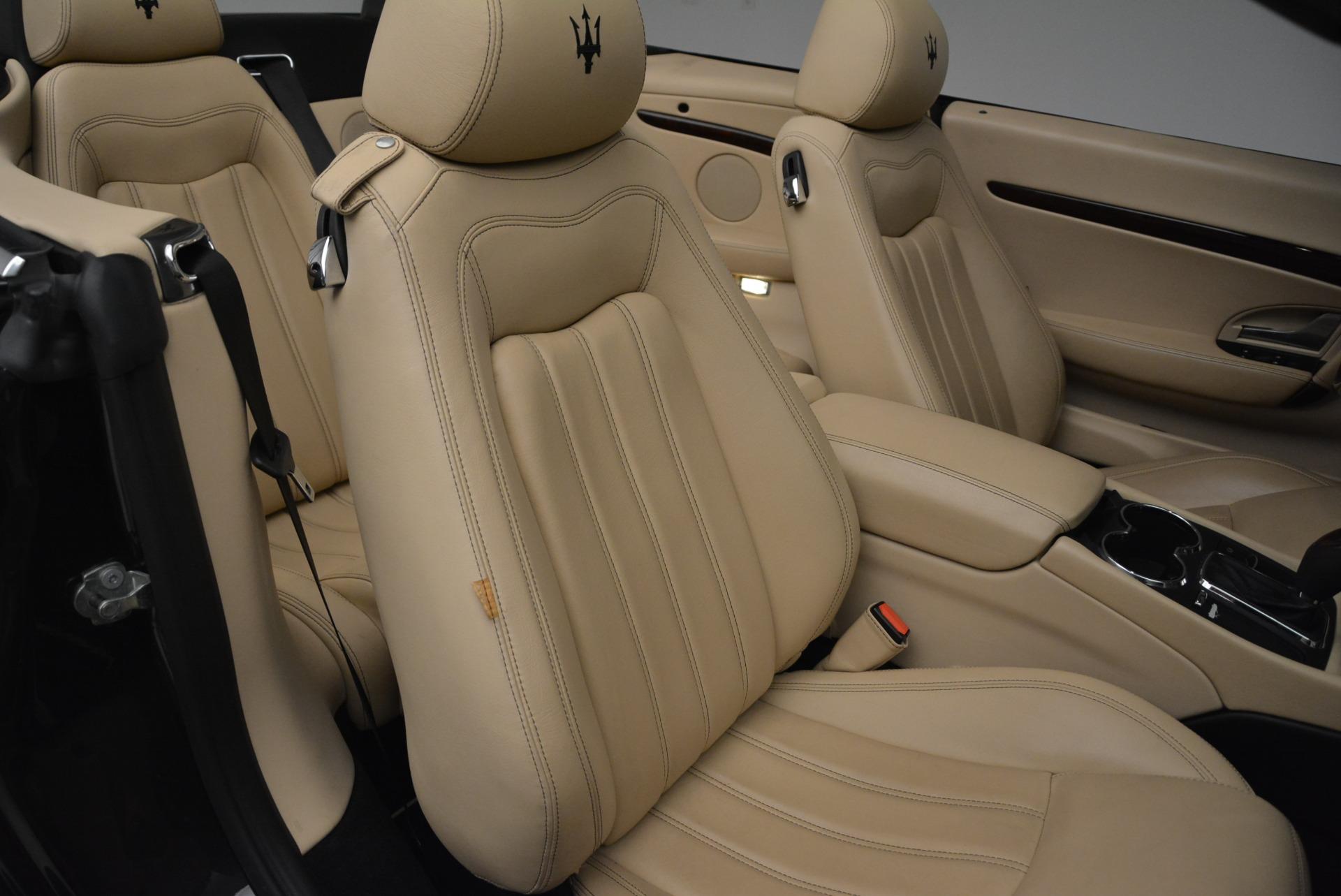 Used 2013 Maserati GranTurismo Convertible  For Sale In Greenwich, CT. Alfa Romeo of Greenwich, W566A 2050_p34