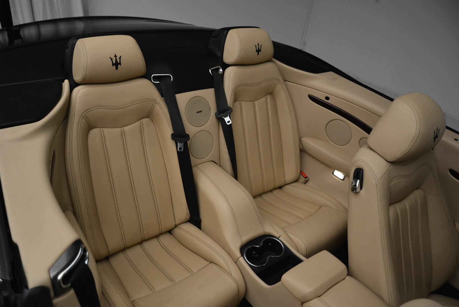 Used 2013 Maserati GranTurismo Convertible  For Sale In Greenwich, CT. Alfa Romeo of Greenwich, W566A 2050_p35