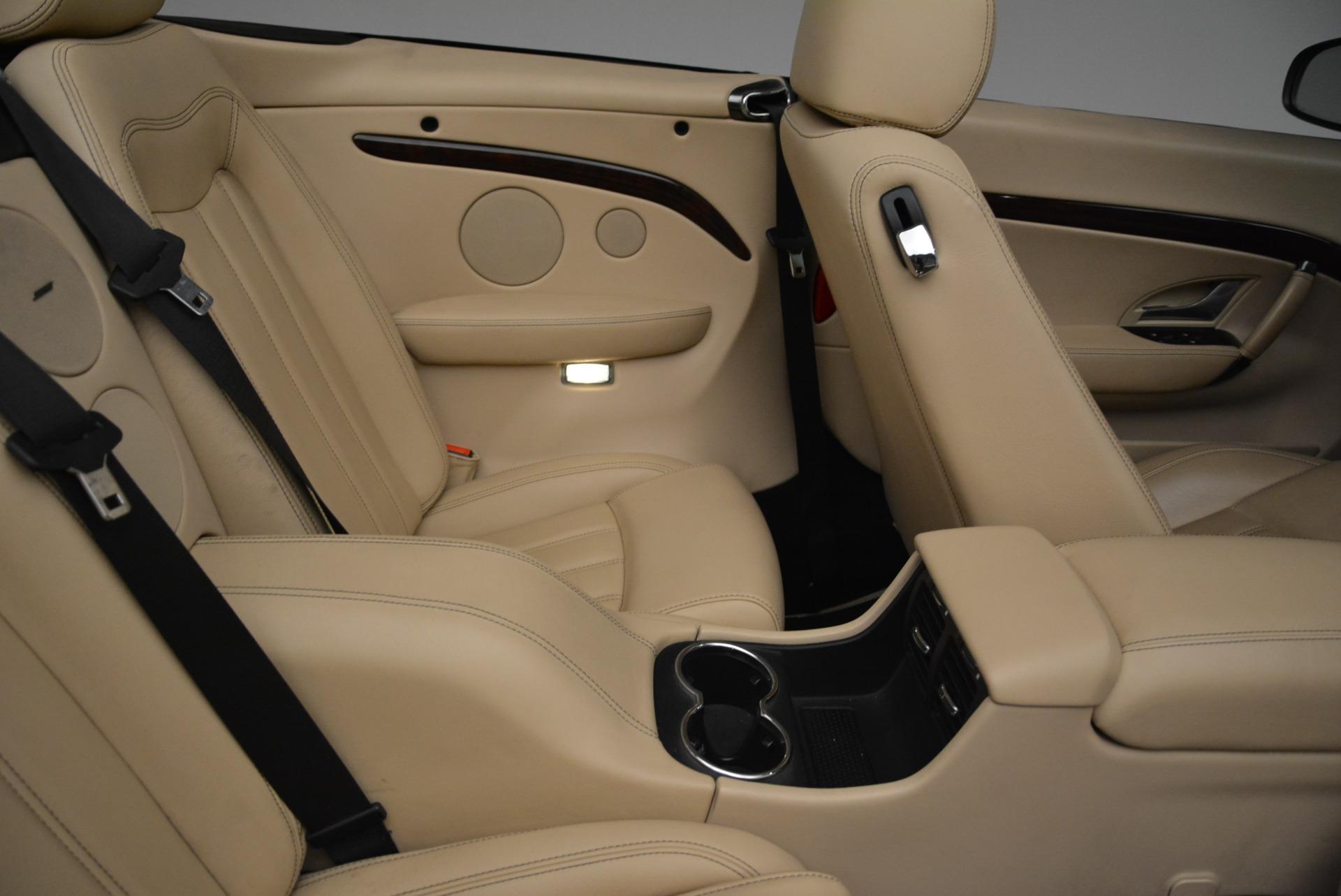 Used 2013 Maserati GranTurismo Convertible  For Sale In Greenwich, CT. Alfa Romeo of Greenwich, W566A 2050_p36
