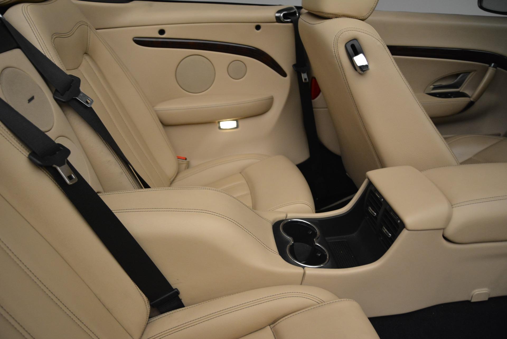 Used 2013 Maserati GranTurismo Convertible  For Sale In Greenwich, CT. Alfa Romeo of Greenwich, W566A 2050_p37