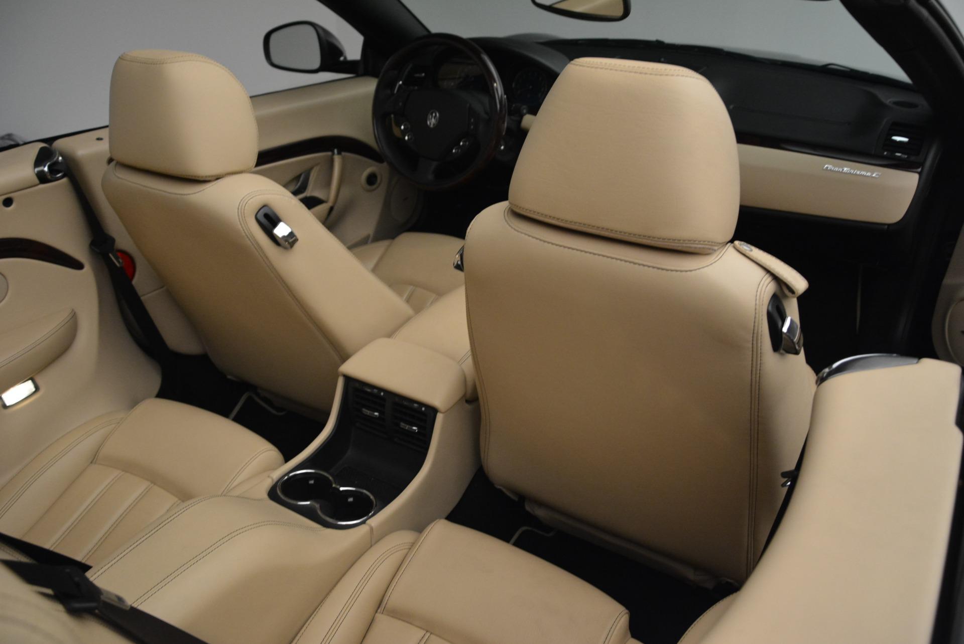 Used 2013 Maserati GranTurismo Convertible  For Sale In Greenwich, CT. Alfa Romeo of Greenwich, W566A 2050_p38