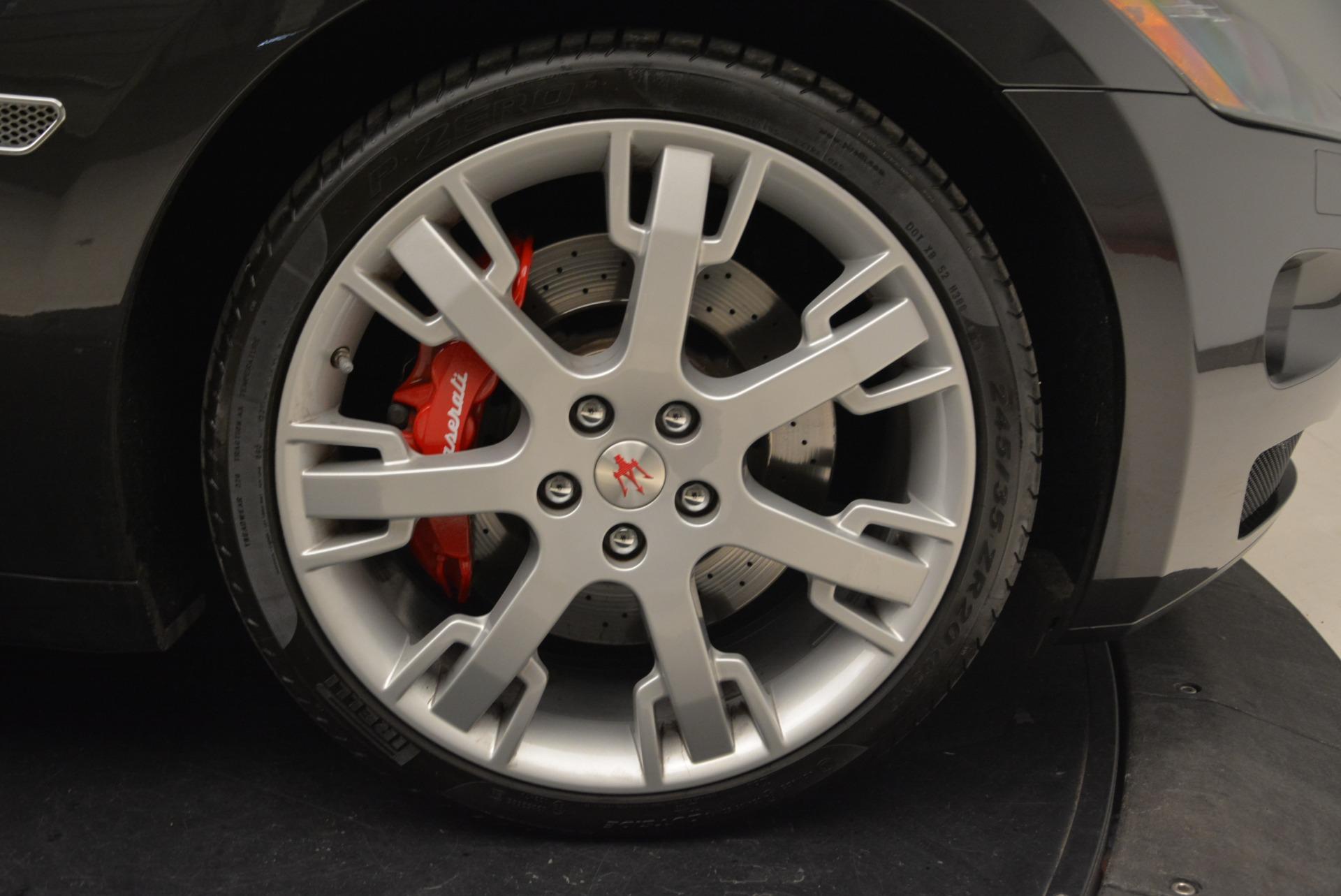Used 2013 Maserati GranTurismo Convertible  For Sale In Greenwich, CT. Alfa Romeo of Greenwich, W566A 2050_p39