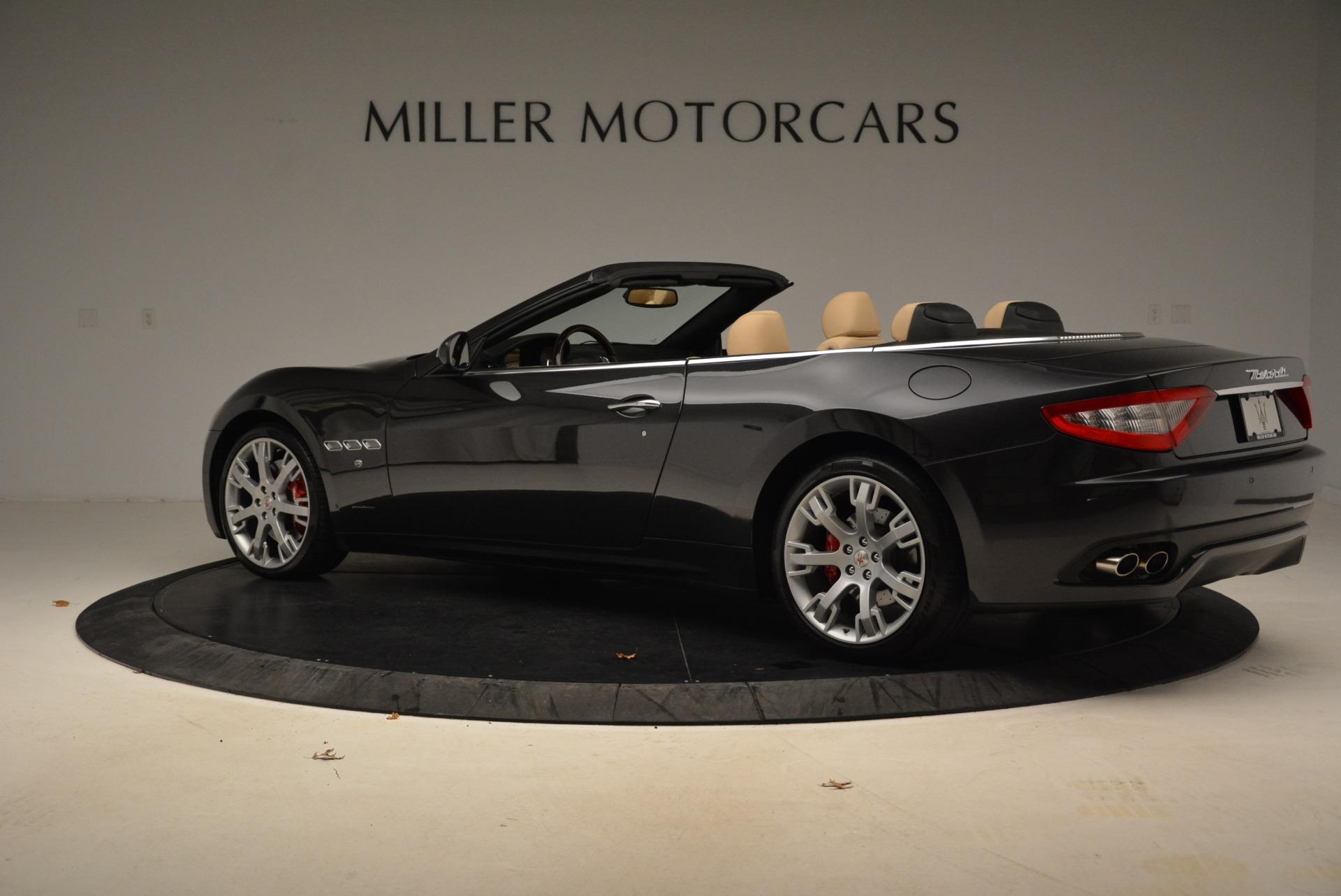 Used 2013 Maserati GranTurismo Convertible  For Sale In Greenwich, CT. Alfa Romeo of Greenwich, W566A 2050_p4