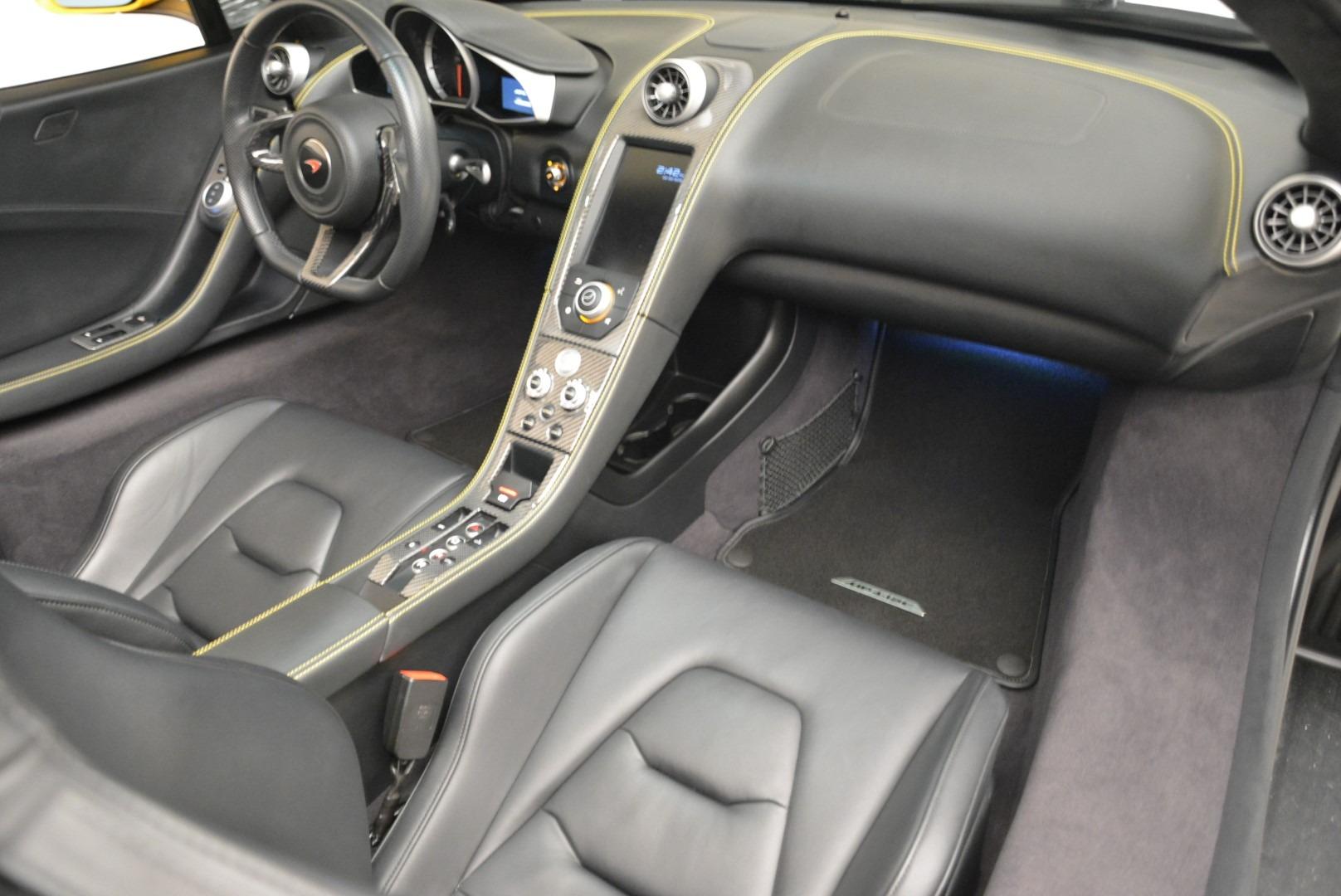 Used 2014 McLaren MP4-12C Spider For Sale In Greenwich, CT. Alfa Romeo of Greenwich, 3134 2057_p29