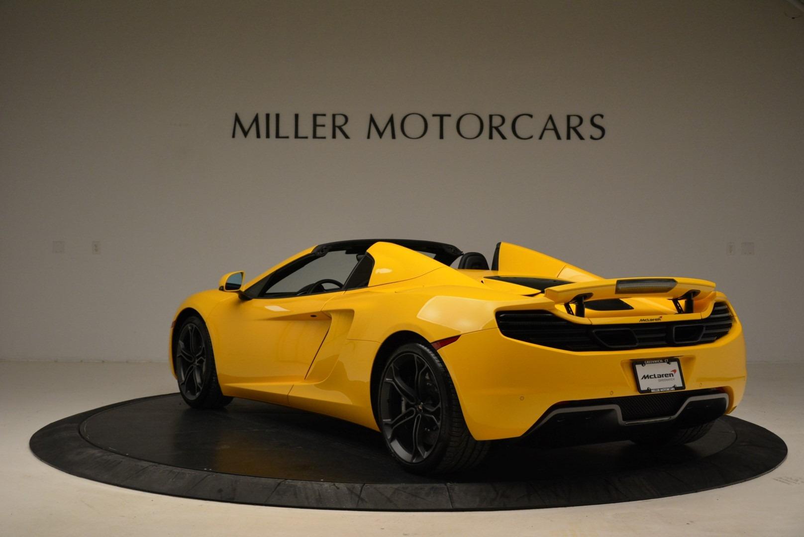 Used 2014 McLaren MP4-12C Spider For Sale In Greenwich, CT. Alfa Romeo of Greenwich, 3134 2057_p5