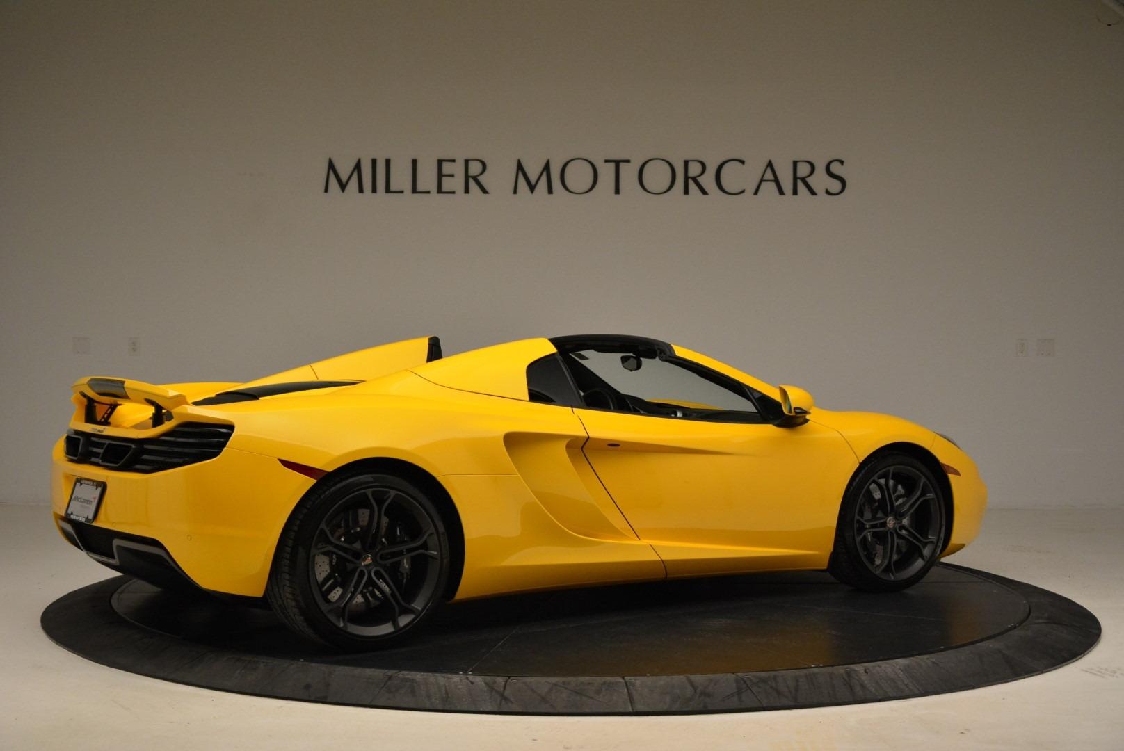 Used 2014 McLaren MP4-12C Spider For Sale In Greenwich, CT. Alfa Romeo of Greenwich, 3134 2057_p8