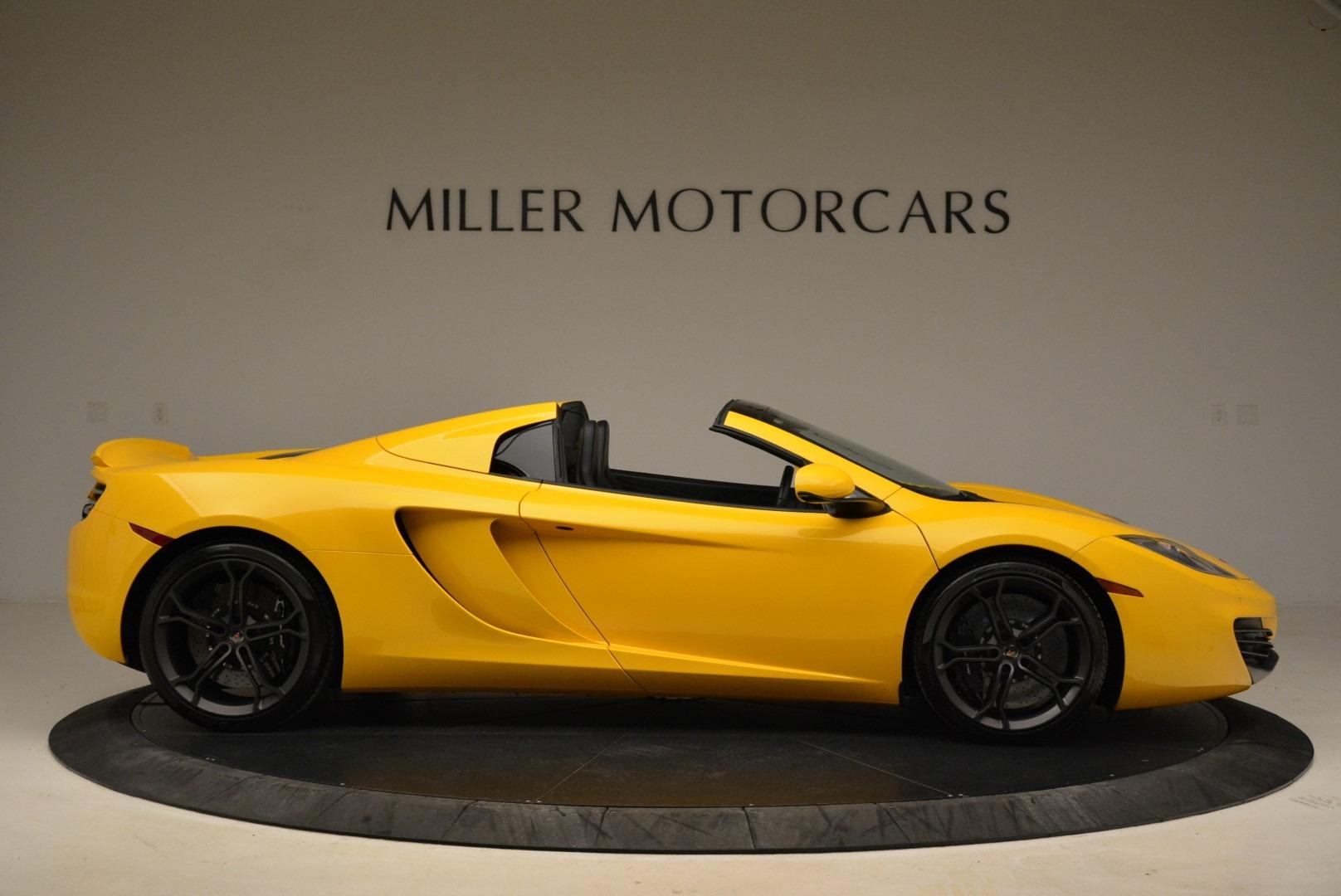 Used 2014 McLaren MP4-12C Spider For Sale In Greenwich, CT. Alfa Romeo of Greenwich, 3134 2057_p9