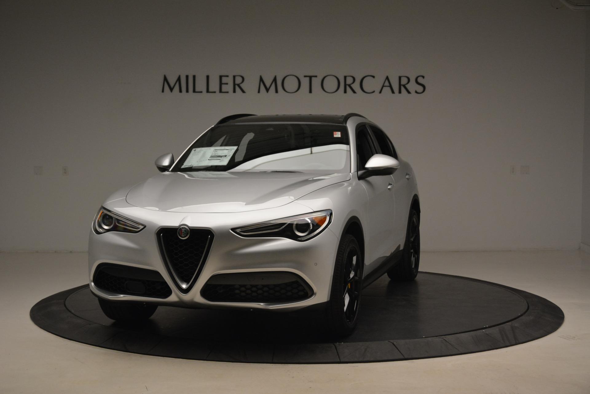 New 2018 Alfa Romeo Stelvio Ti Sport Q4 For Sale In Greenwich, CT. Alfa Romeo of Greenwich, L395 2058_main