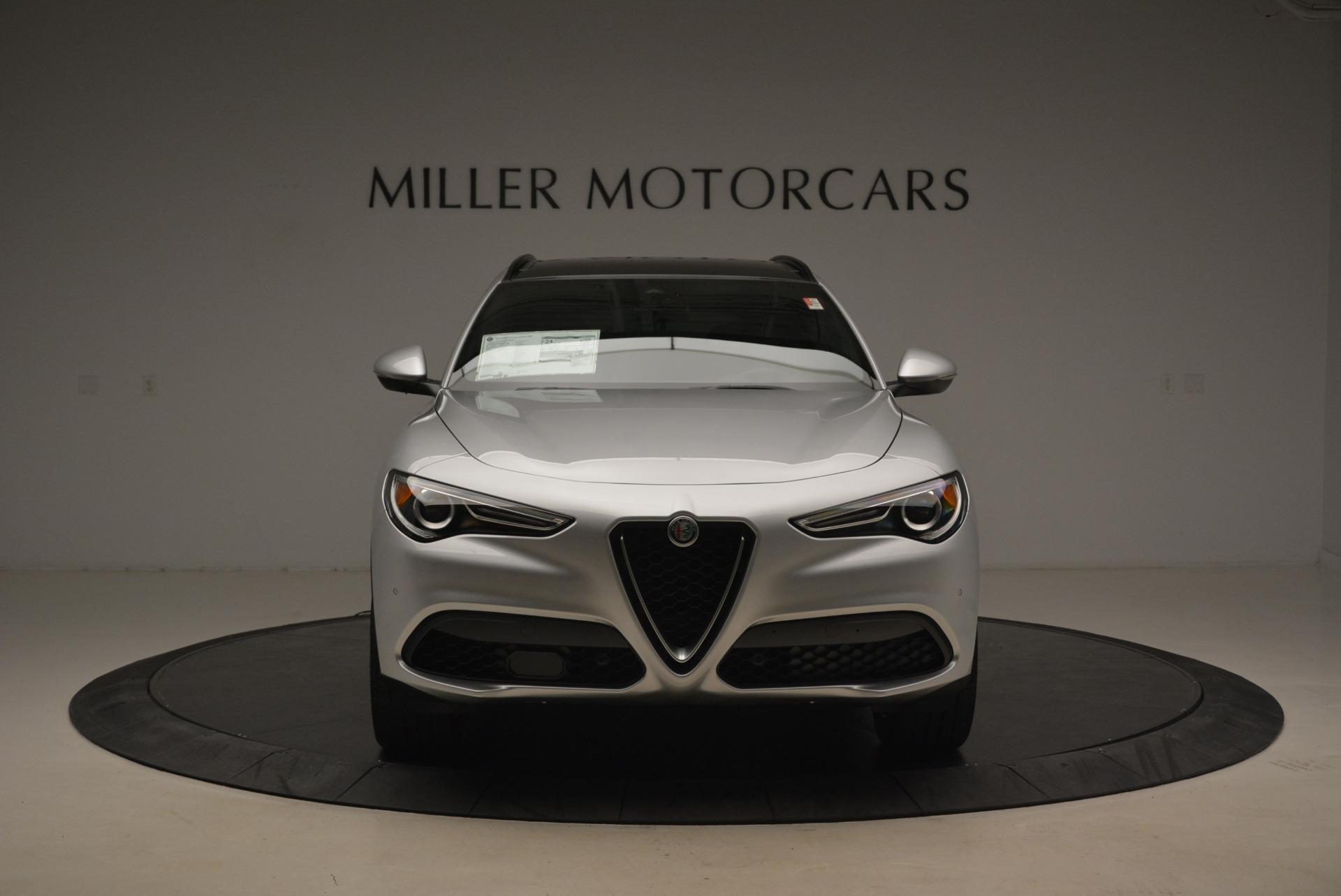 New 2018 Alfa Romeo Stelvio Ti Sport Q4 For Sale In Greenwich, CT. Alfa Romeo of Greenwich, L395 2058_p12