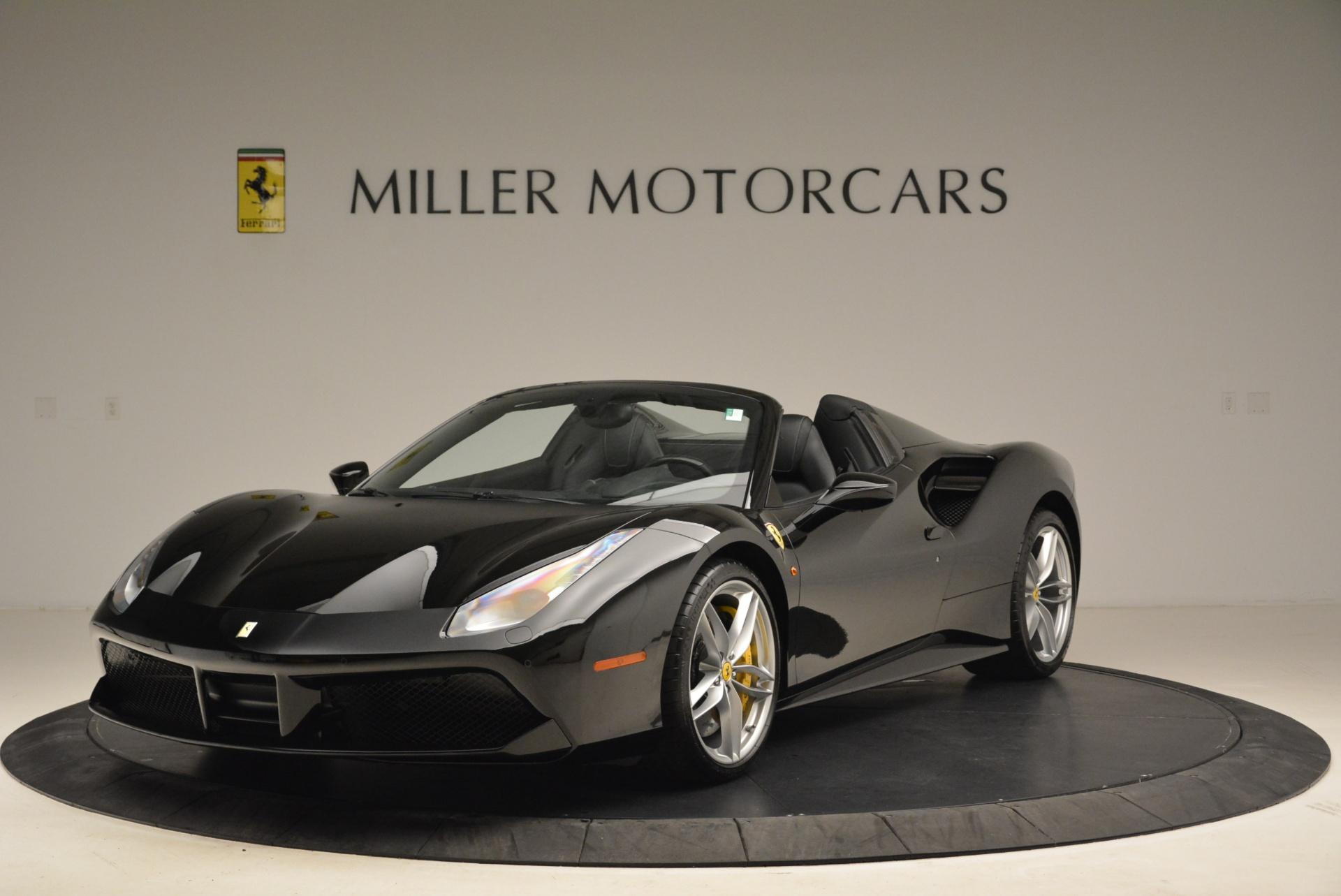 Used 2016 Ferrari 488 Spider  For Sale In Greenwich, CT. Alfa Romeo of Greenwich, 4462 2078_main