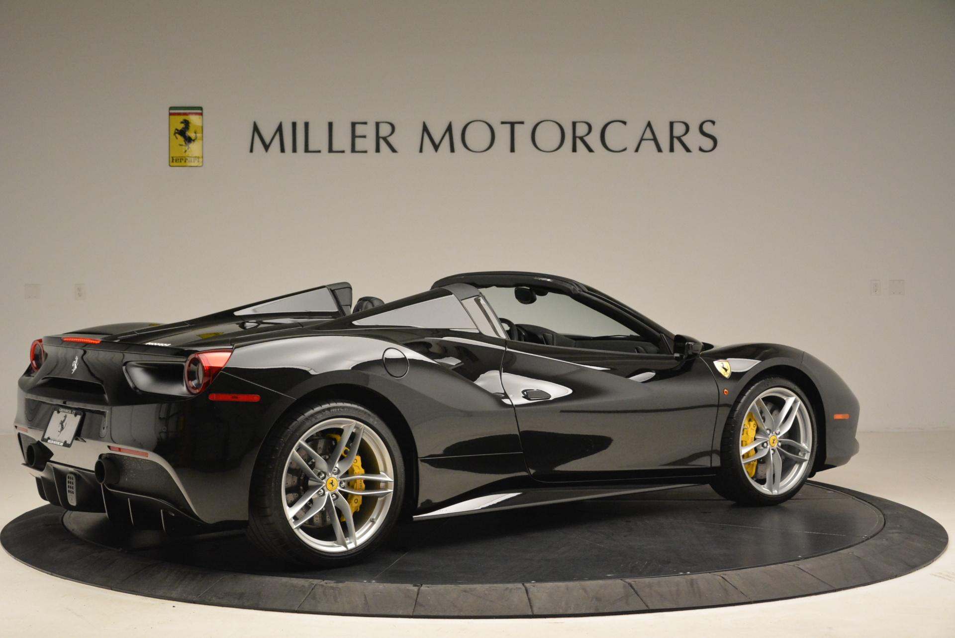 Used 2016 Ferrari 488 Spider  For Sale In Greenwich, CT. Alfa Romeo of Greenwich, 4462 2078_p8
