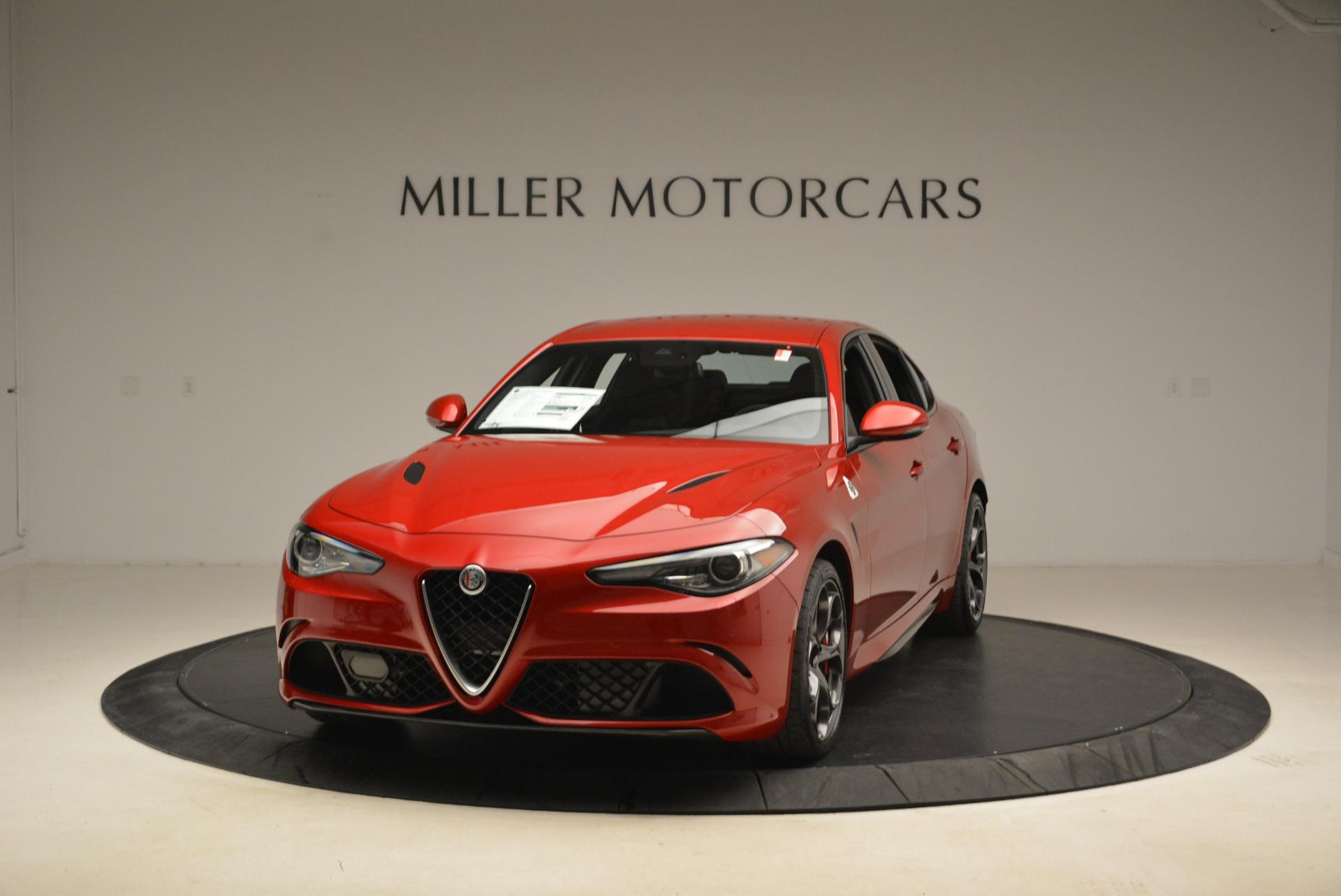New 2018 Alfa Romeo Giulia Quadrifoglio For Sale In Greenwich, CT. Alfa Romeo of Greenwich, LW138 2081_main