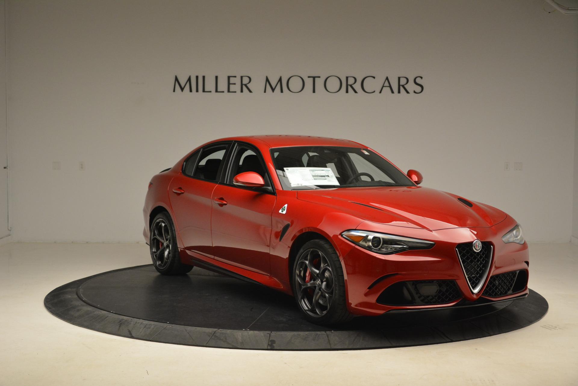New 2018 Alfa Romeo Giulia Quadrifoglio For Sale In Greenwich, CT. Alfa Romeo of Greenwich, LW138 2081_p11