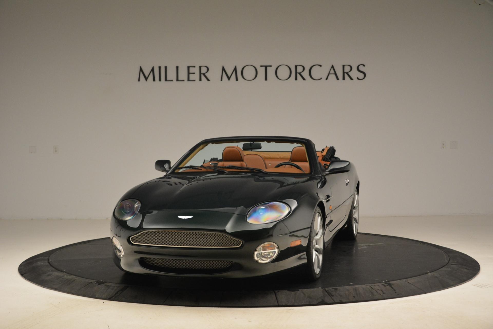 Used 2003 Aston Martin DB7 Vantage Volante For Sale In Greenwich, CT. Alfa Romeo of Greenwich, 7307 2084_main