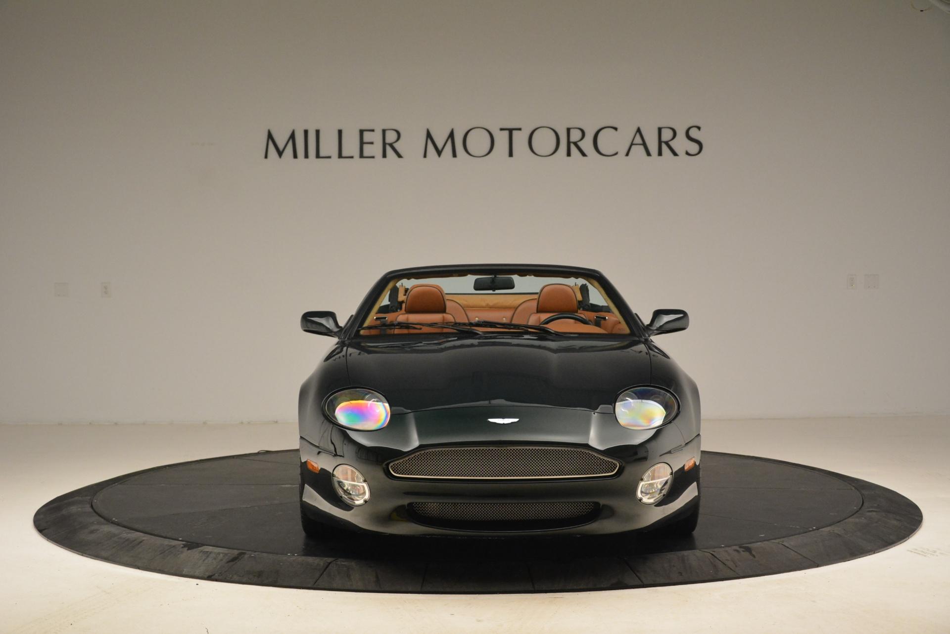 Used 2003 Aston Martin DB7 Vantage Volante For Sale In Greenwich, CT. Alfa Romeo of Greenwich, 7307 2084_p12
