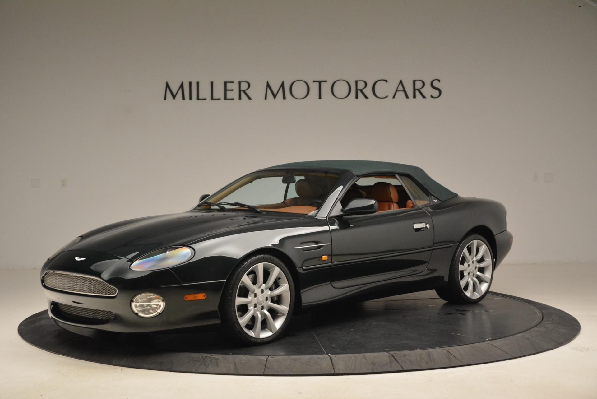Used 2003 Aston Martin DB7 Vantage Volante For Sale In Greenwich, CT. Alfa Romeo of Greenwich, 7307 2084_p14