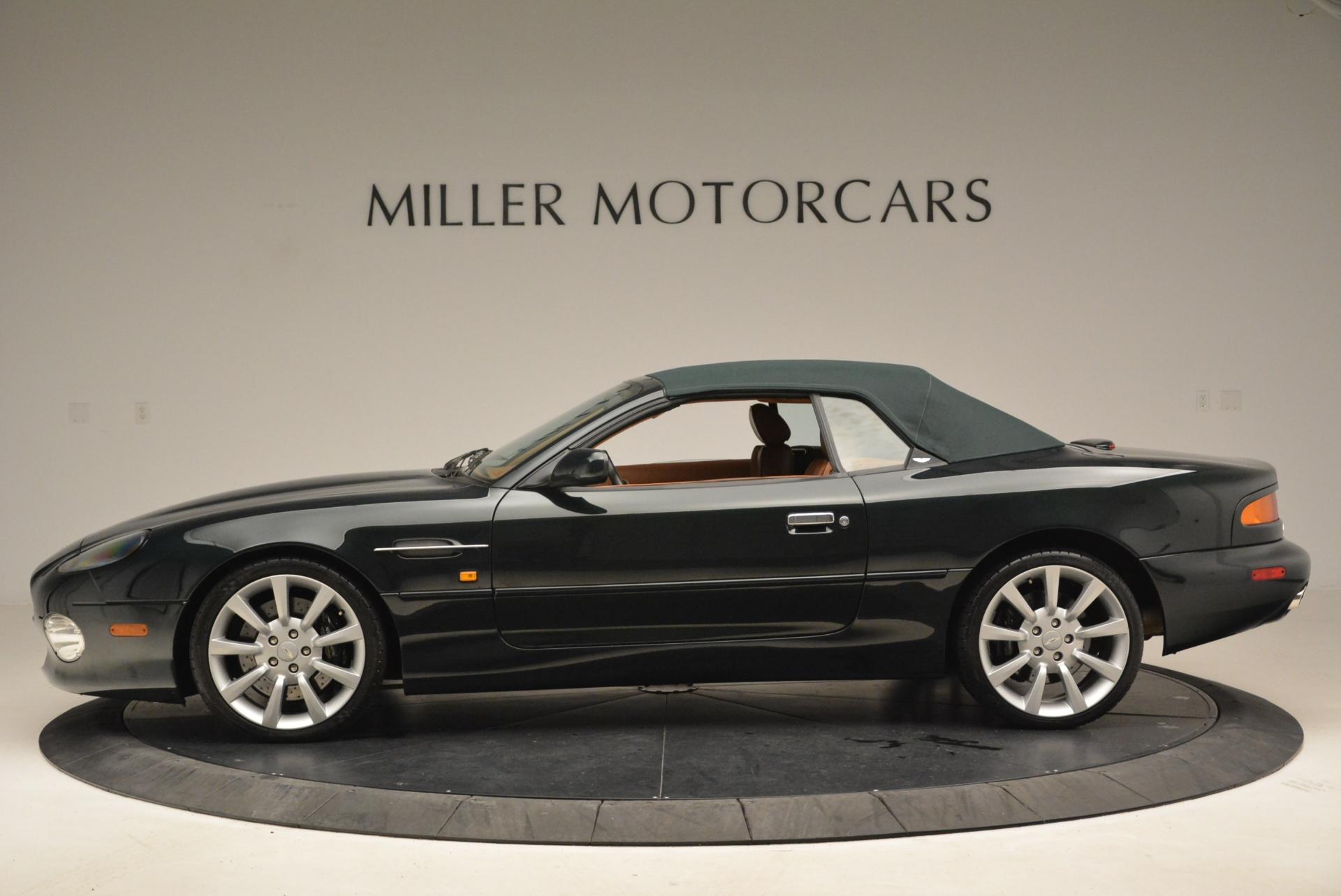 Used 2003 Aston Martin DB7 Vantage Volante For Sale In Greenwich, CT. Alfa Romeo of Greenwich, 7307 2084_p15