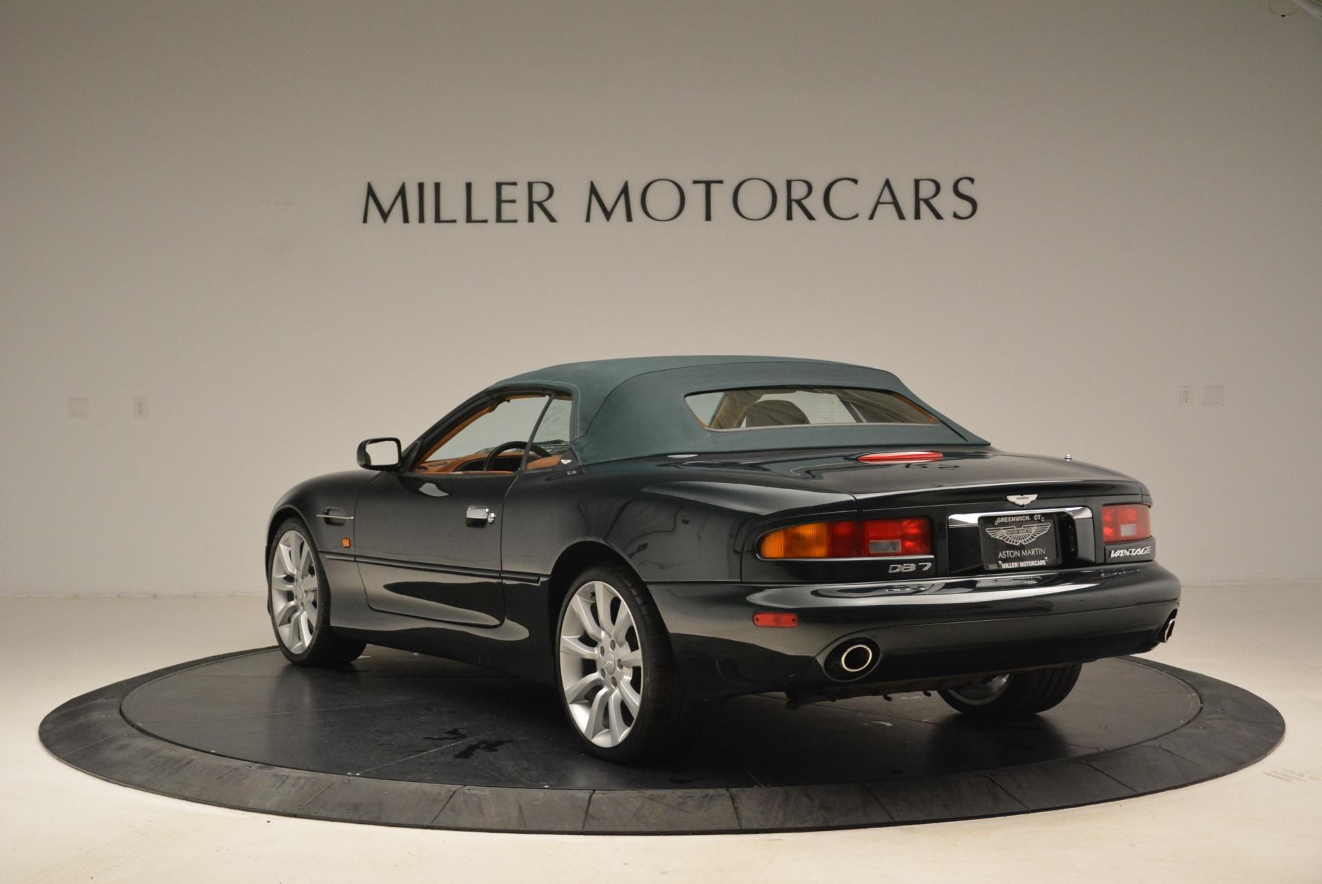 Used 2003 Aston Martin DB7 Vantage Volante For Sale In Greenwich, CT. Alfa Romeo of Greenwich, 7307 2084_p17