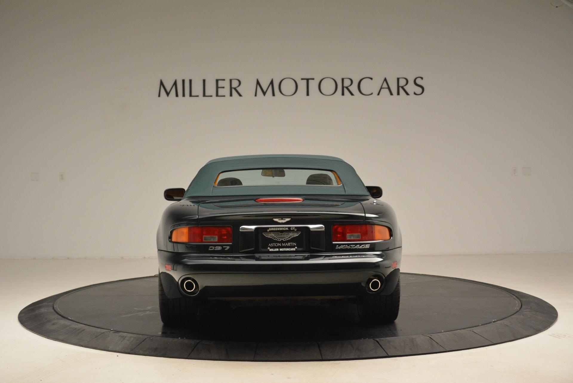 Used 2003 Aston Martin DB7 Vantage Volante For Sale In Greenwich, CT. Alfa Romeo of Greenwich, 7307 2084_p18