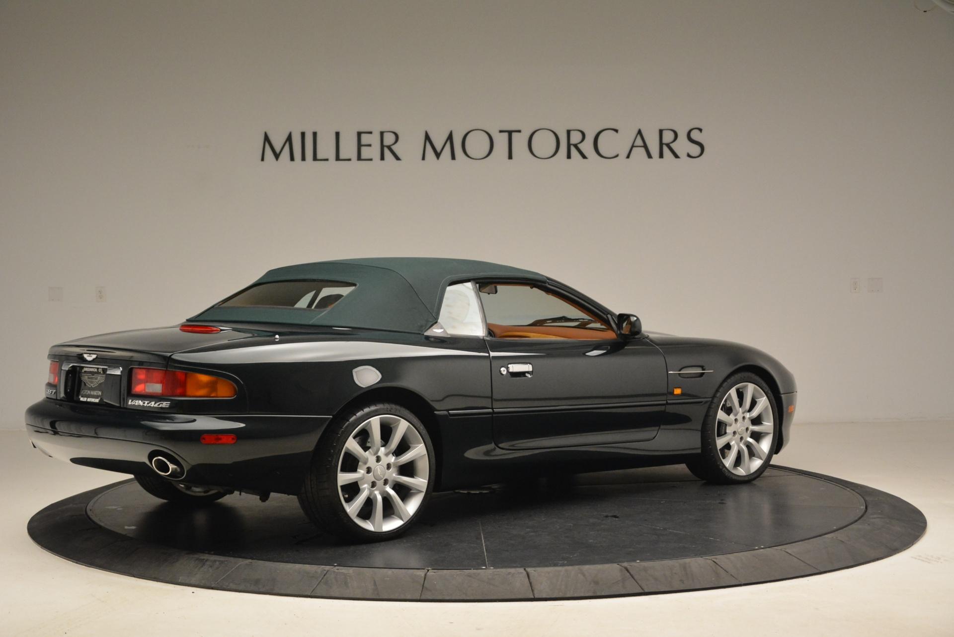 Used 2003 Aston Martin DB7 Vantage Volante For Sale In Greenwich, CT. Alfa Romeo of Greenwich, 7307 2084_p20