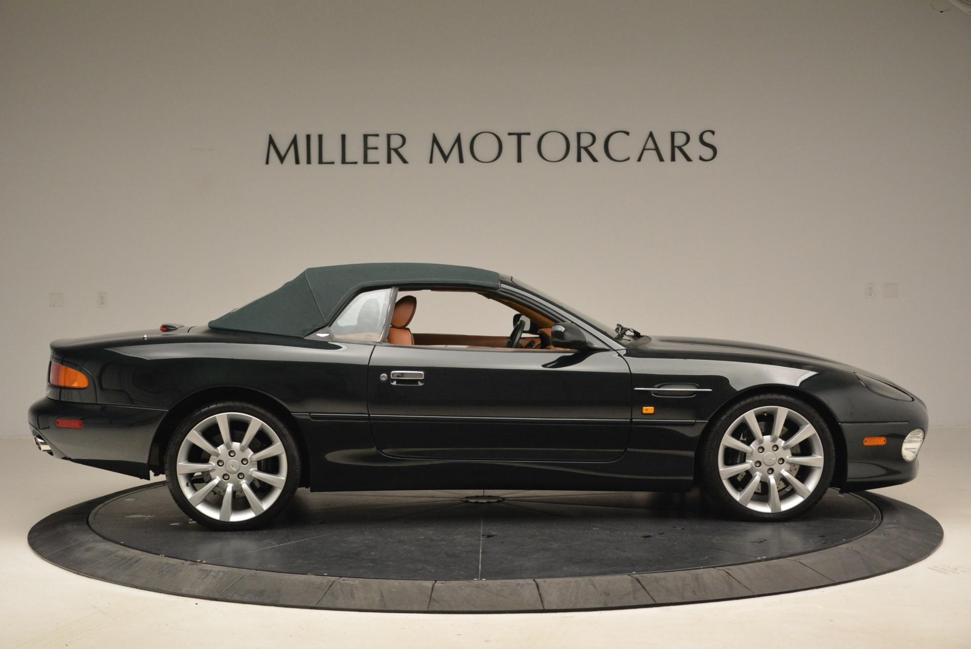 Used 2003 Aston Martin DB7 Vantage Volante For Sale In Greenwich, CT. Alfa Romeo of Greenwich, 7307 2084_p21