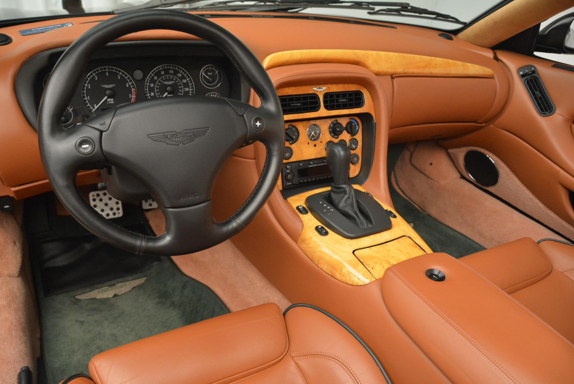 Used 2003 Aston Martin DB7 Vantage Volante For Sale In Greenwich, CT. Alfa Romeo of Greenwich, 7307 2084_p24