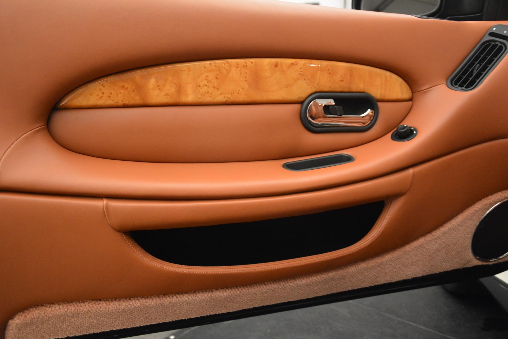 Used 2003 Aston Martin DB7 Vantage Volante For Sale In Greenwich, CT. Alfa Romeo of Greenwich, 7307 2084_p25