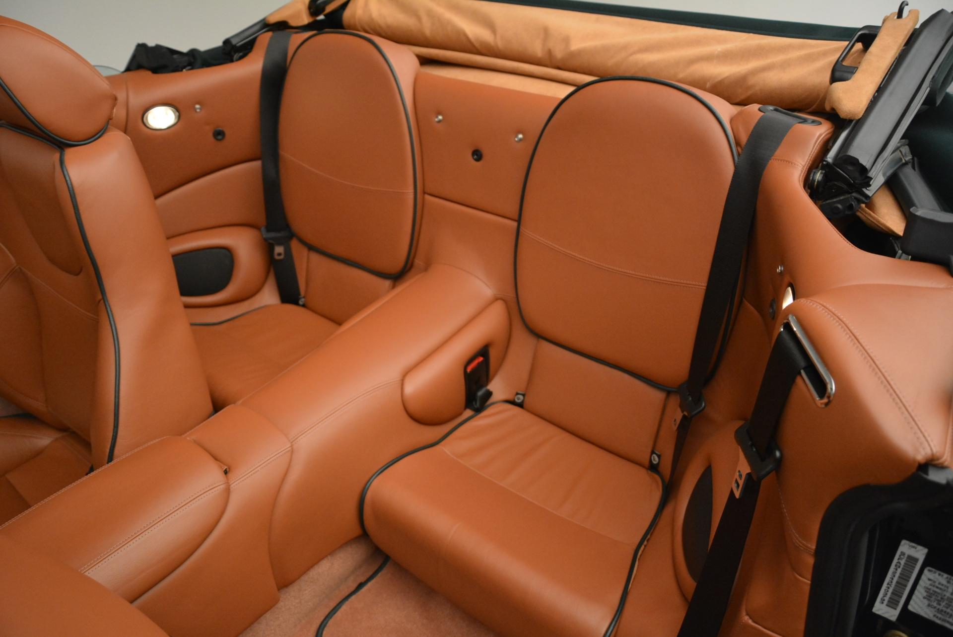 Used 2003 Aston Martin DB7 Vantage Volante For Sale In Greenwich, CT. Alfa Romeo of Greenwich, 7307 2084_p27