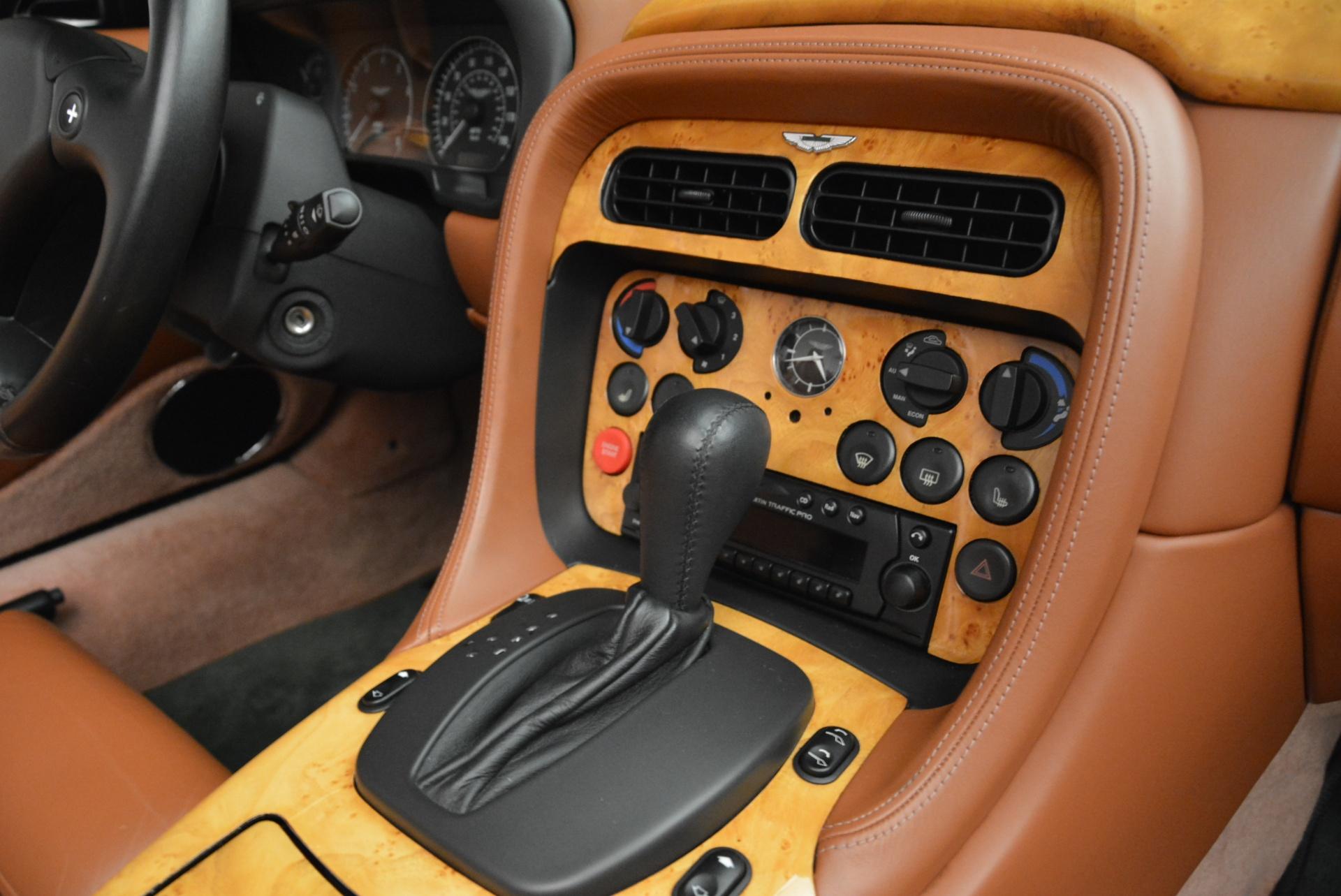 Used 2003 Aston Martin DB7 Vantage Volante For Sale In Greenwich, CT. Alfa Romeo of Greenwich, 7307 2084_p29