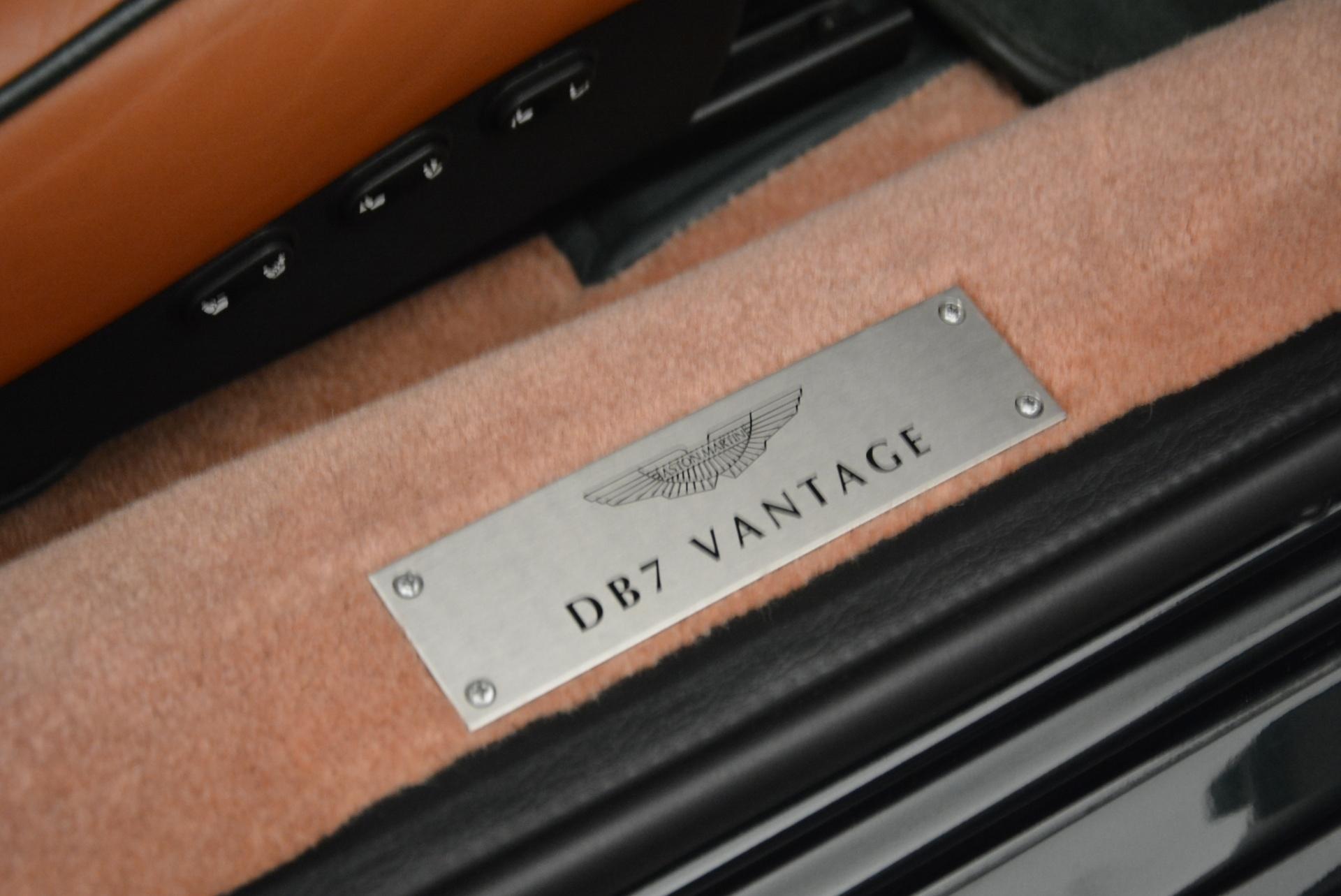 Used 2003 Aston Martin DB7 Vantage Volante For Sale In Greenwich, CT. Alfa Romeo of Greenwich, 7307 2084_p30