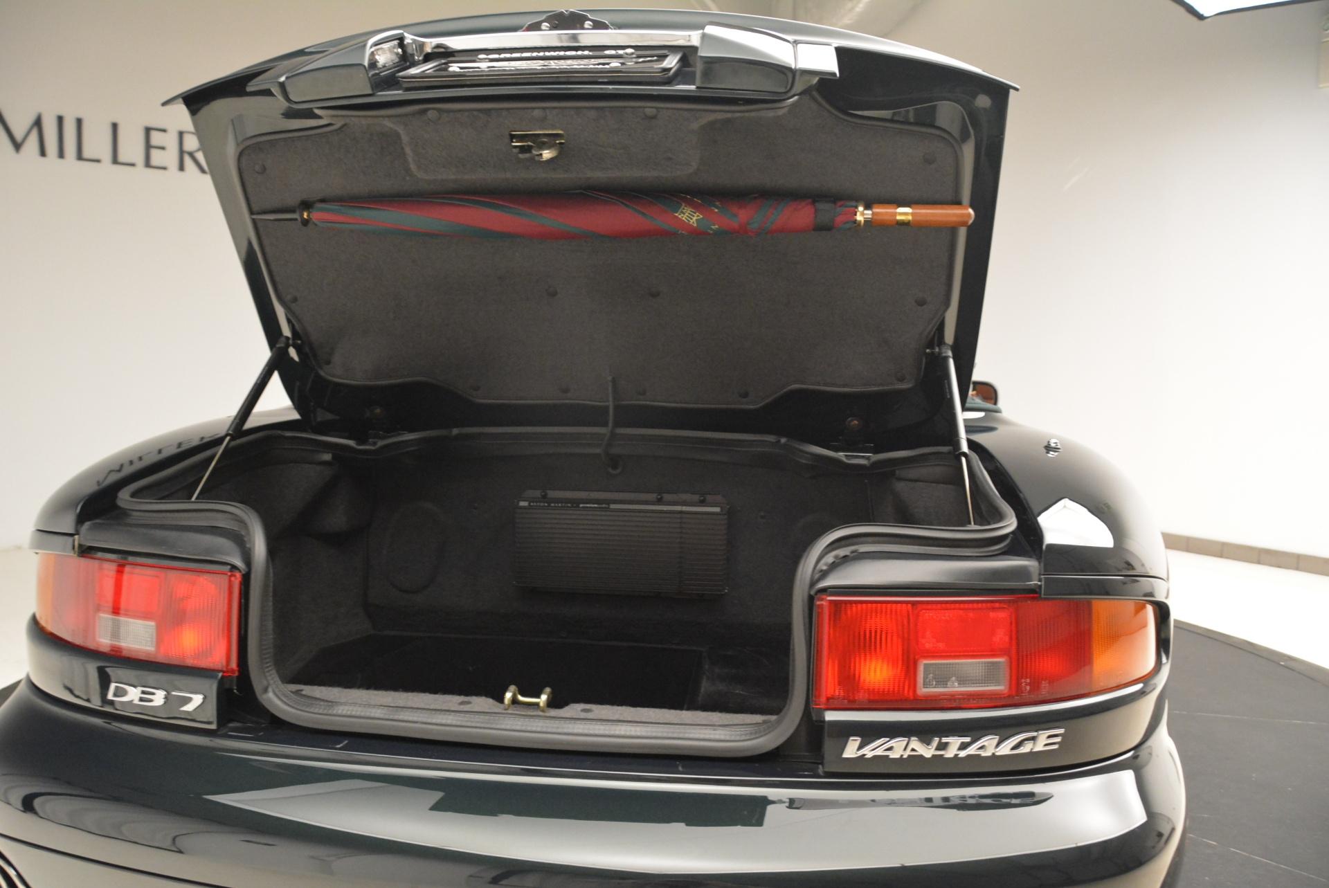 Used 2003 Aston Martin DB7 Vantage Volante For Sale In Greenwich, CT. Alfa Romeo of Greenwich, 7307 2084_p31