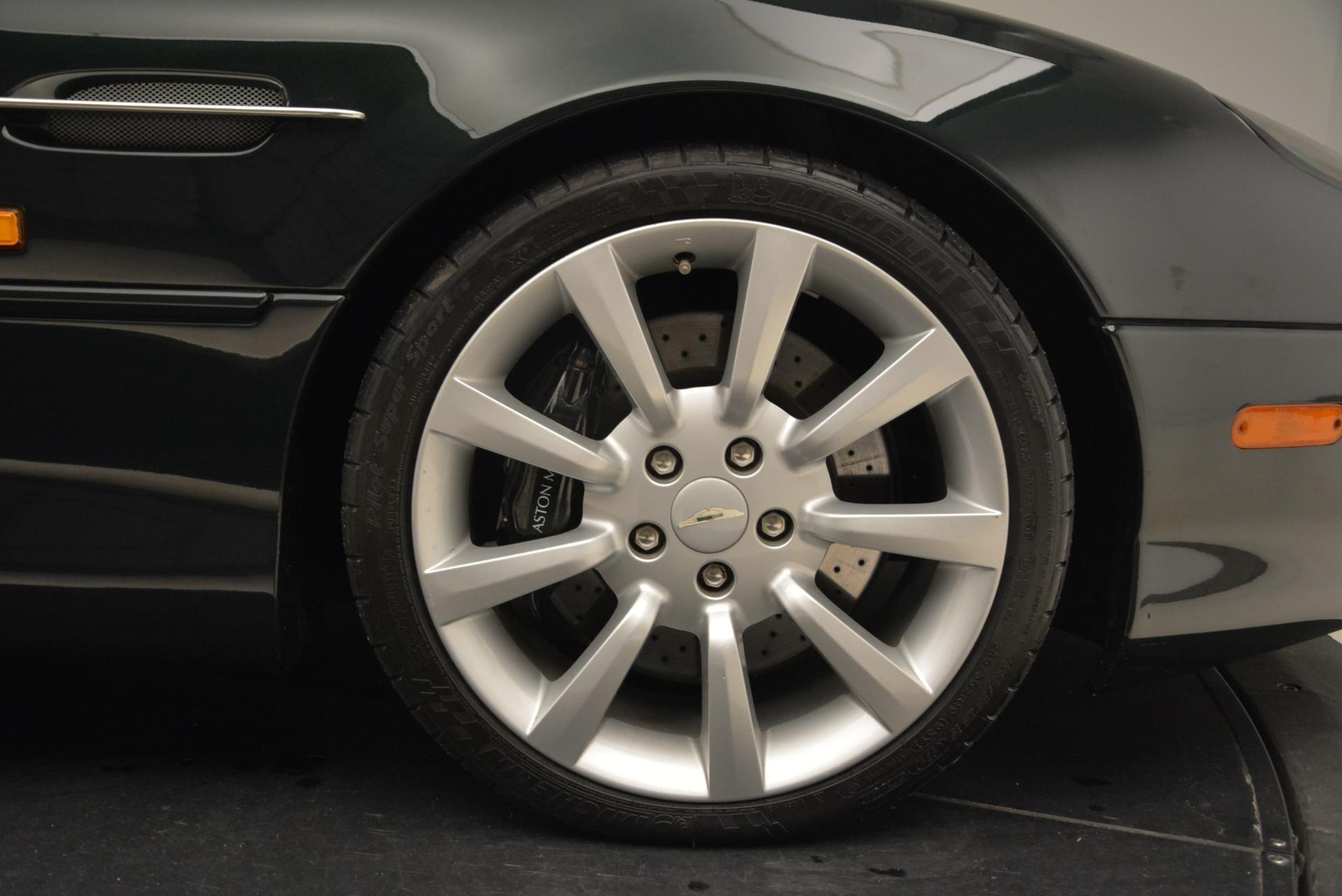Used 2003 Aston Martin DB7 Vantage Volante For Sale In Greenwich, CT. Alfa Romeo of Greenwich, 7307 2084_p32