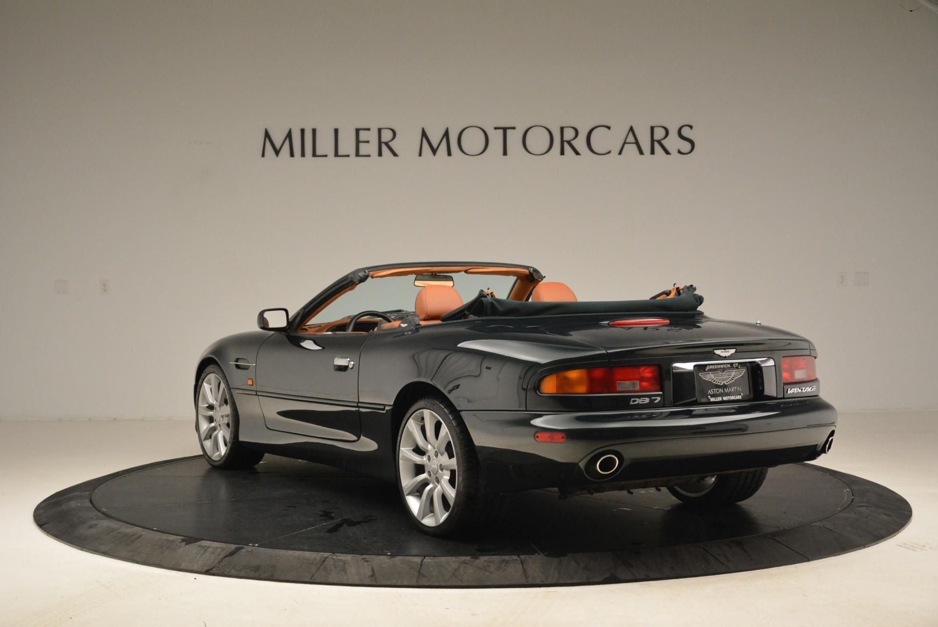 Used 2003 Aston Martin DB7 Vantage Volante For Sale In Greenwich, CT. Alfa Romeo of Greenwich, 7307 2084_p5