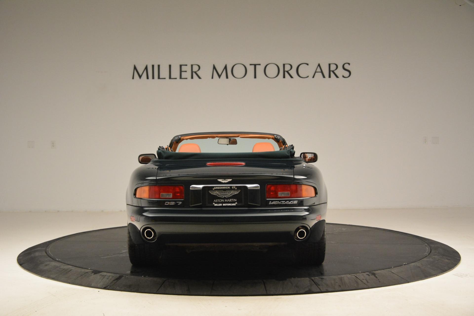 Used 2003 Aston Martin DB7 Vantage Volante For Sale In Greenwich, CT. Alfa Romeo of Greenwich, 7307 2084_p6